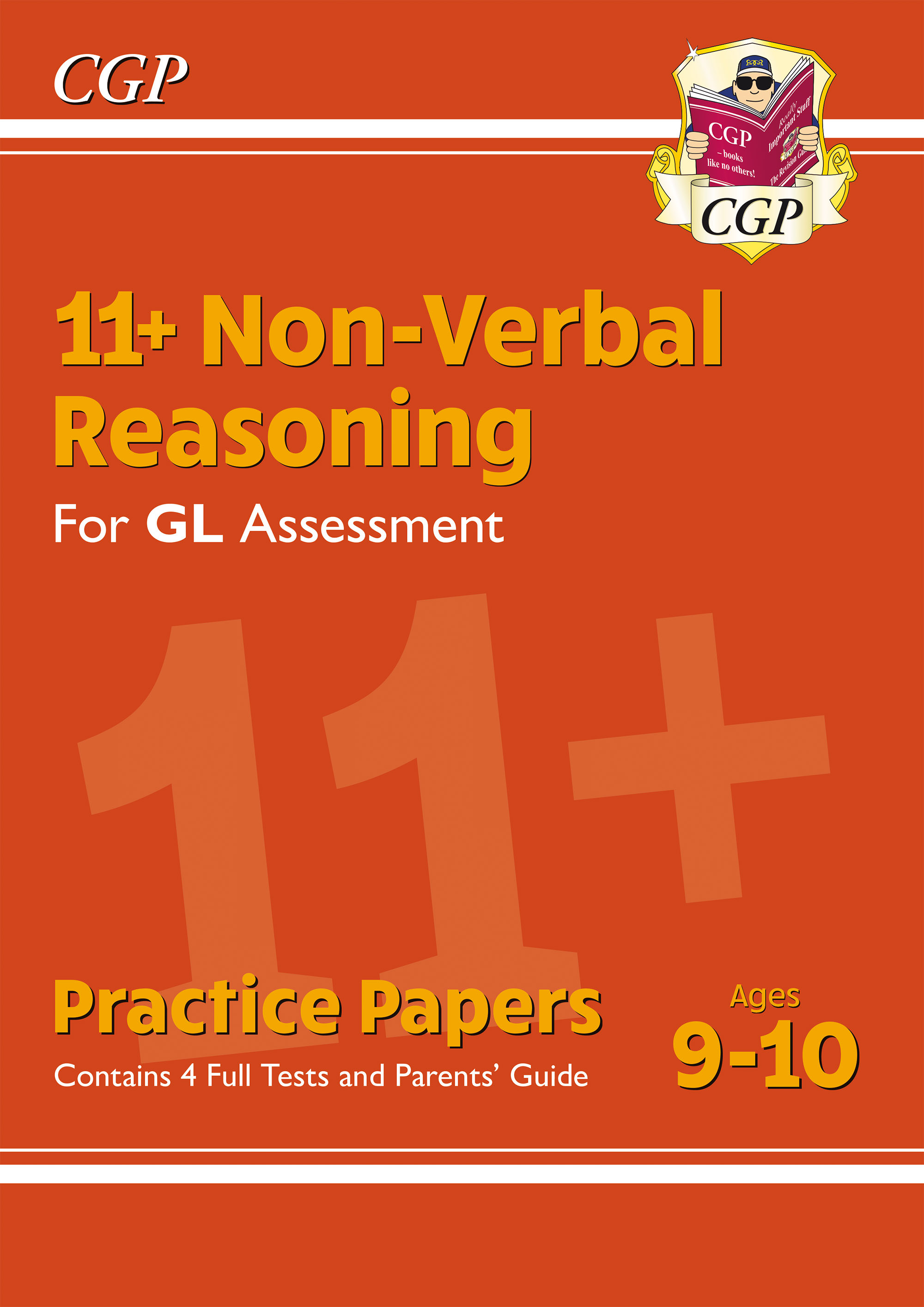 NH5PE1DK - New 11+ GL Non-Verbal Reasoning Practice Papers - Ages 9-10 (with Parents' Guide)