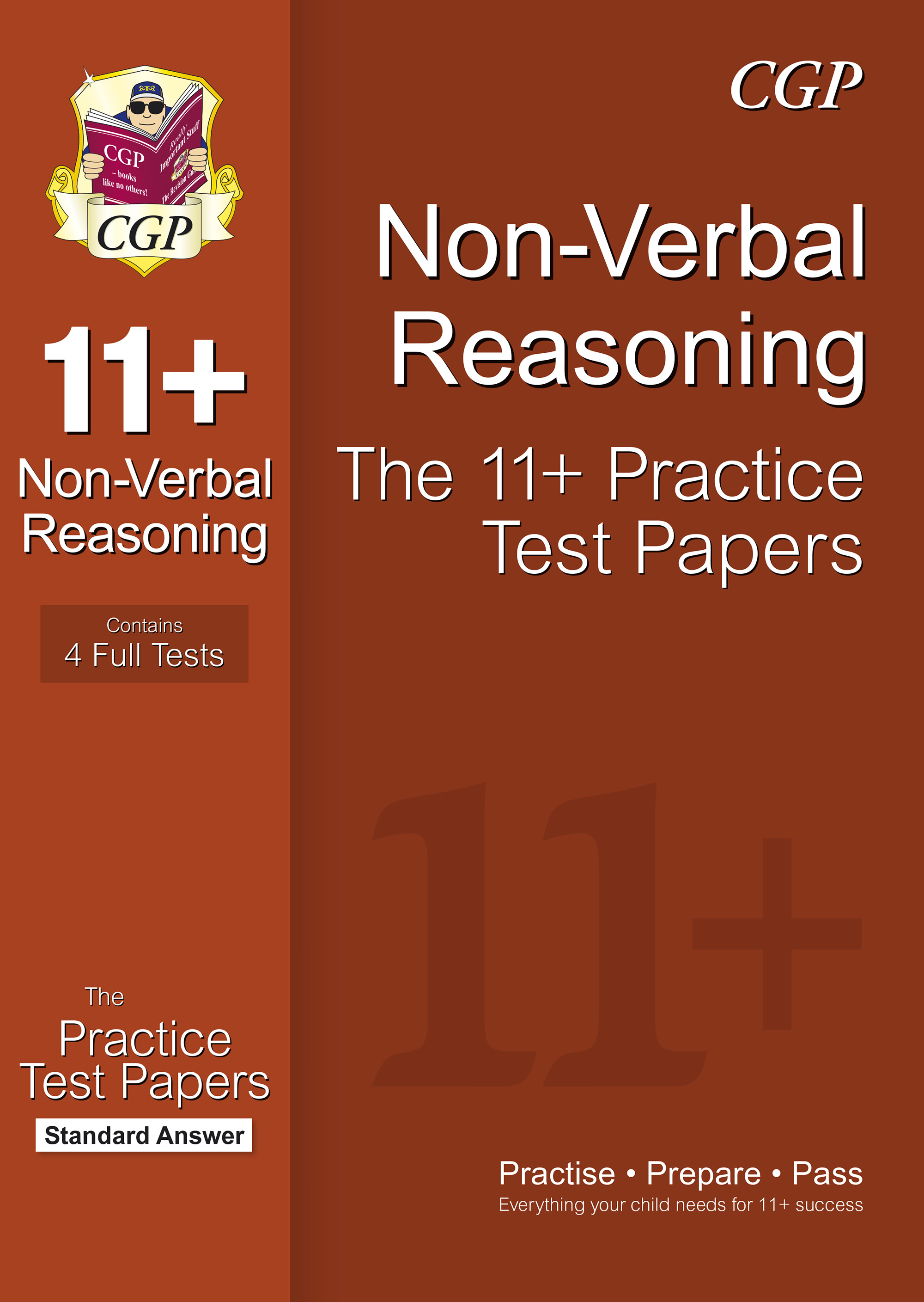NHPE1 - 11+ Non-Verbal Reasoning Practice Papers: Standard Answers (for GL & Other Test Providers)