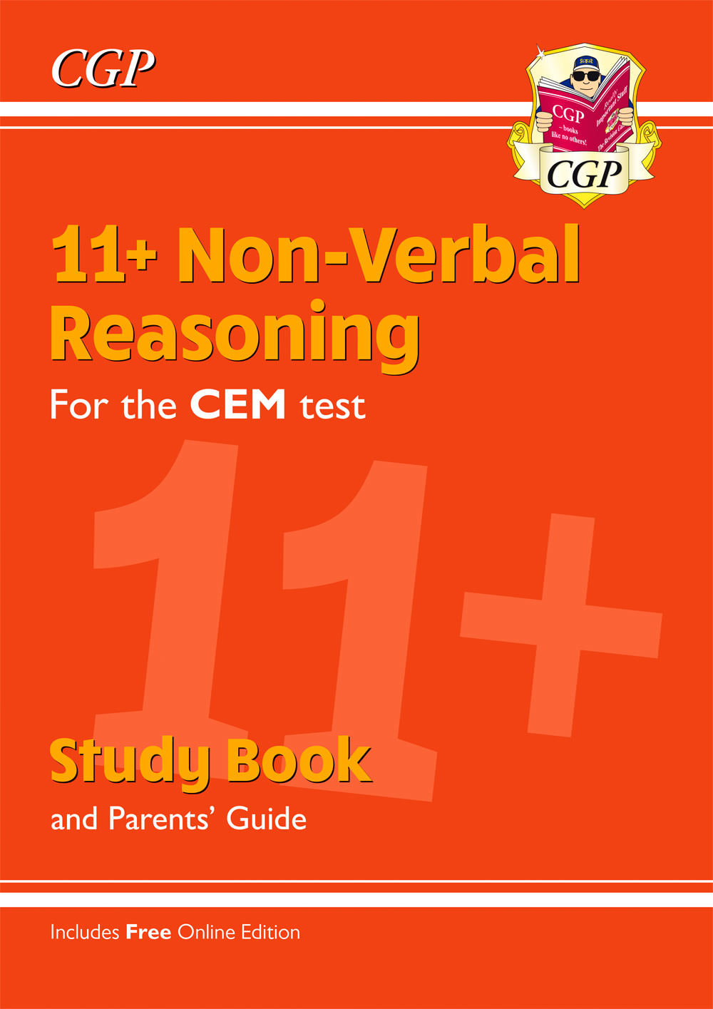 NHRDE2 - 11+ CEM Non-Verbal Reasoning Study Book (with Parents' Guide & Online Edition)