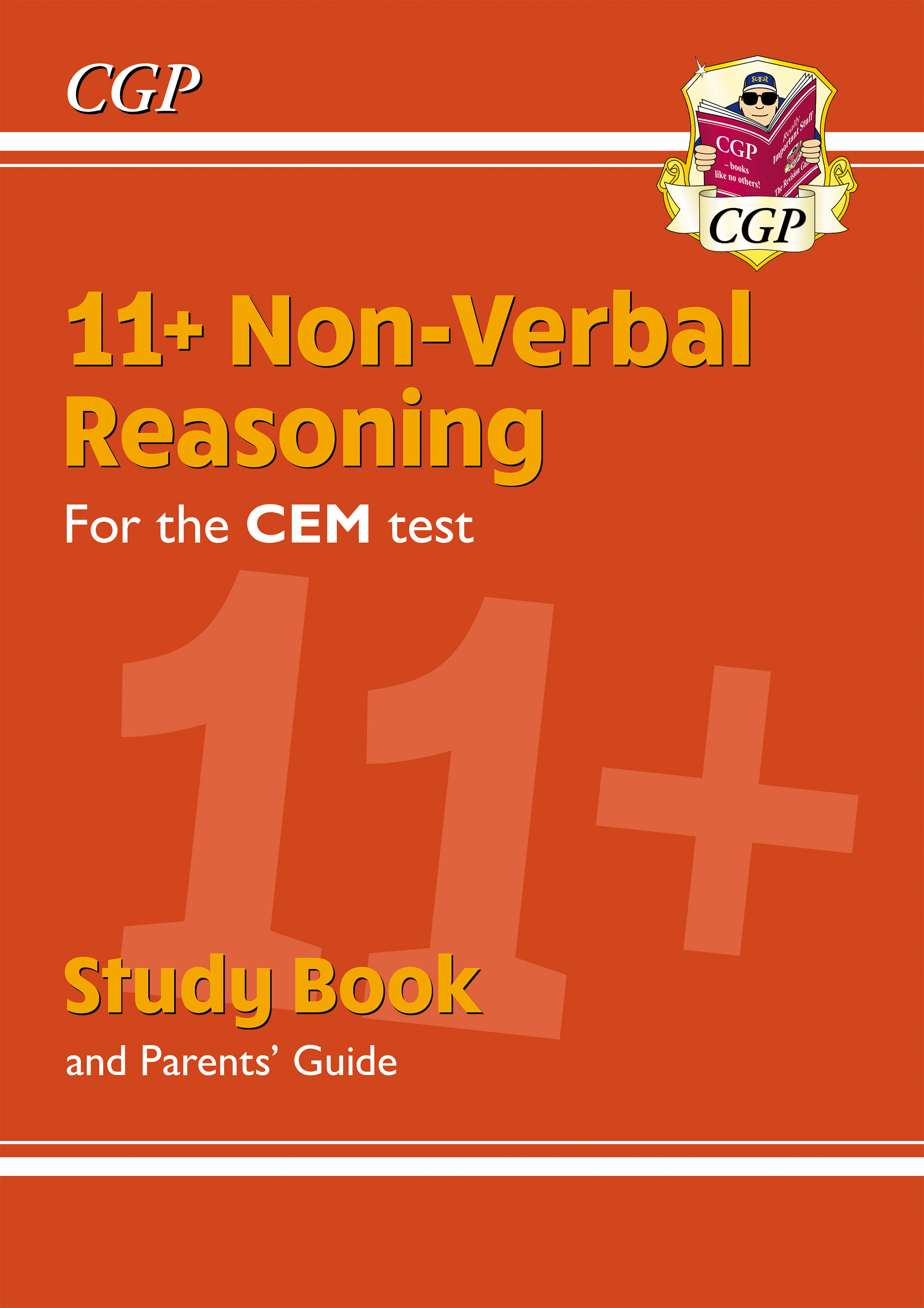 NHRDE2DK - New 11+ CEM Non-Verbal Reasoning Study Book (with Parents' Guide & Online Edition)