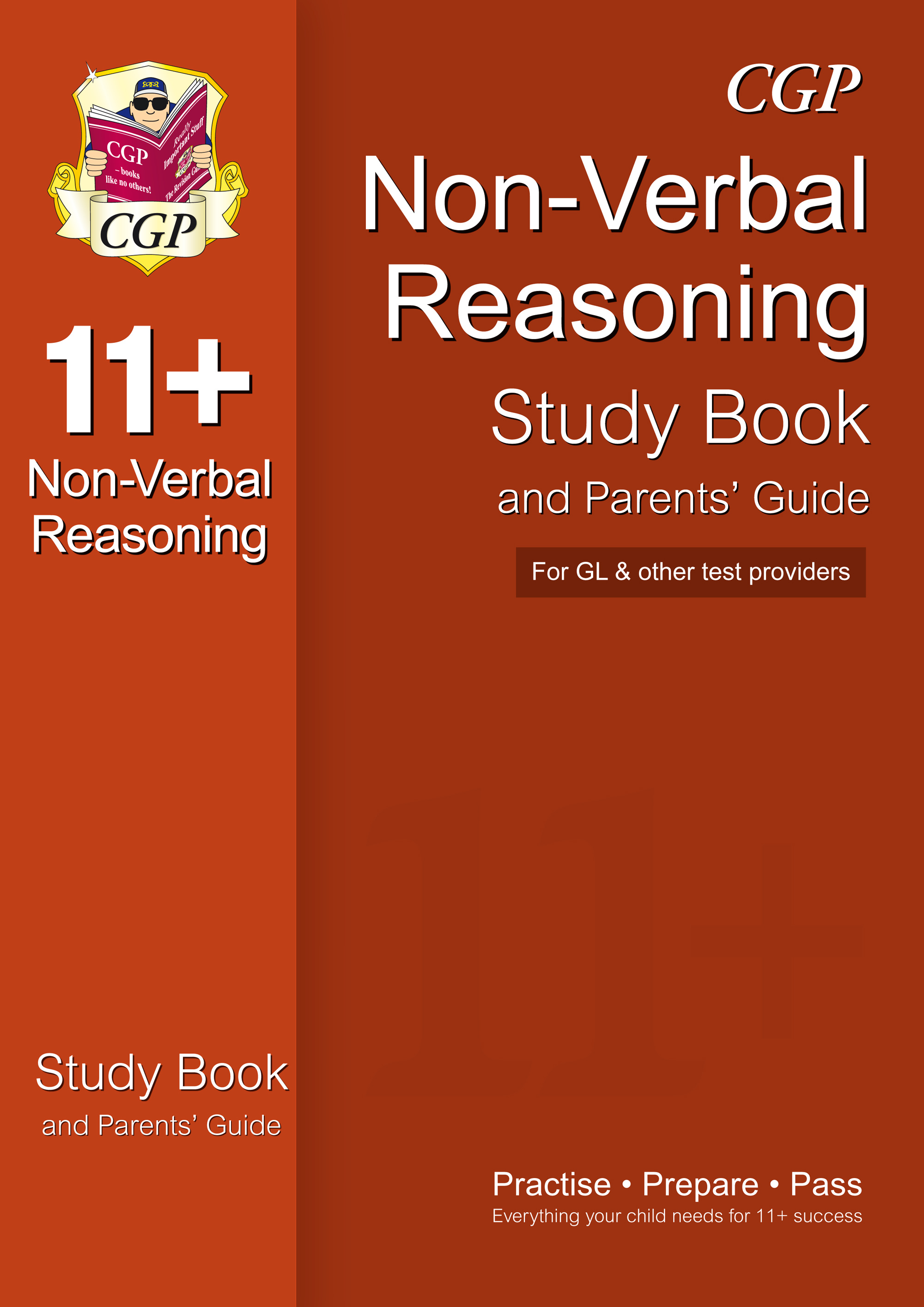 NHRE1 - 11+ Non-Verbal Reasoning Study Book and Parents' Guide (for GL & Other Test Providers)