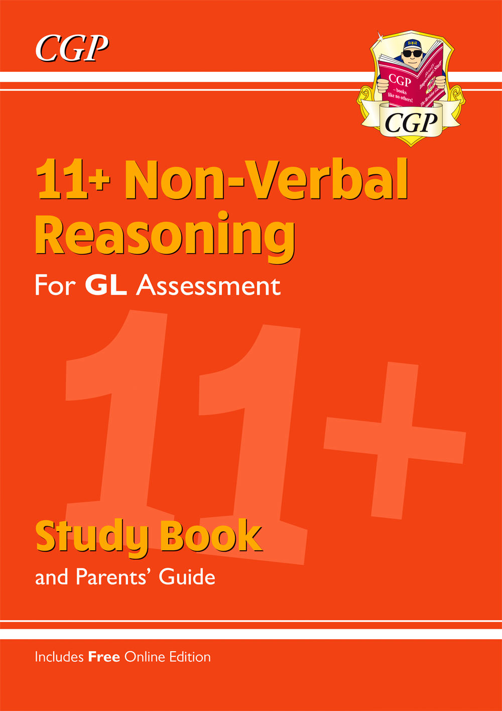 NHRE2 - New 11+ GL Non-Verbal Reasoning Study Book (with Parents' Guide & Online Edition)