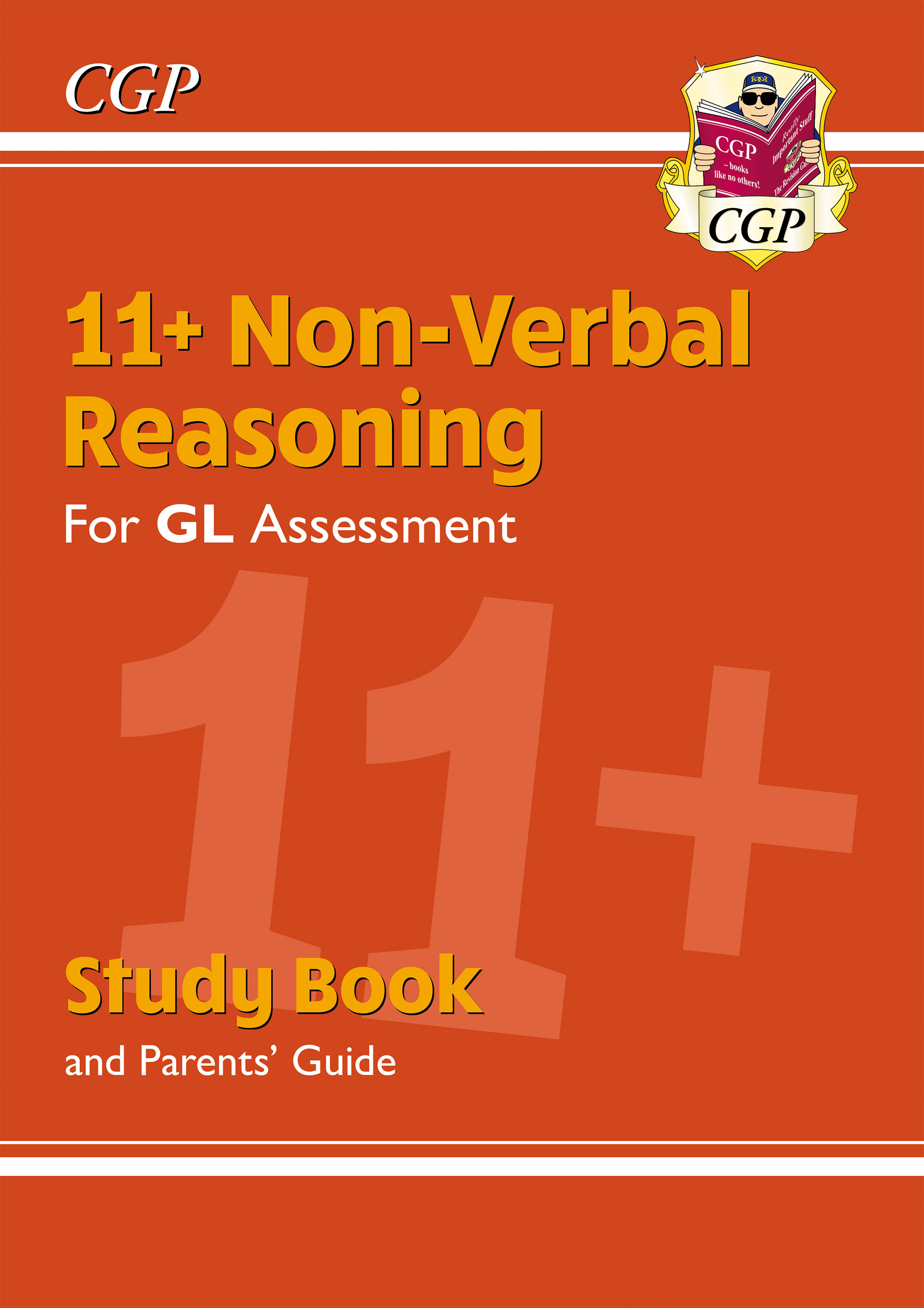 NHRE2DK - New 11+ GL Non-Verbal Reasoning Study Book (with Parents' Guide & Online Edition)