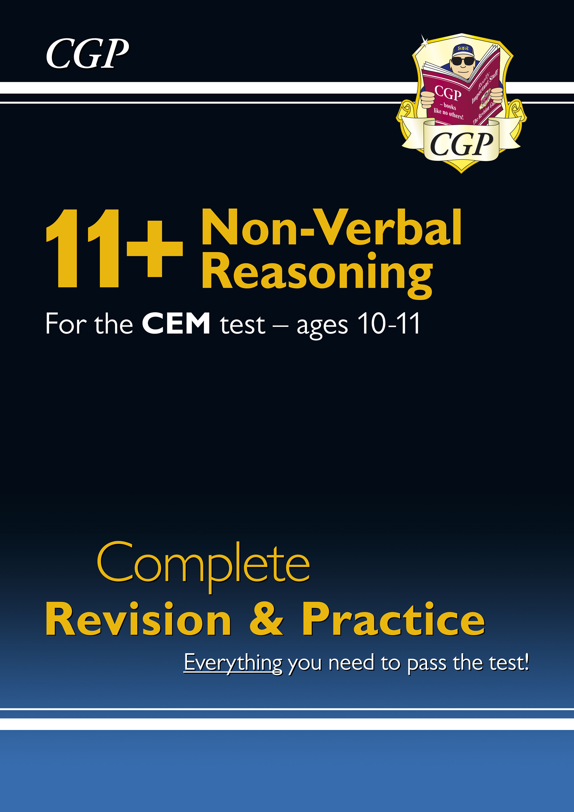 NHSDE1DK - New 11+ CEM Non-Verbal Reasoning Complete Revision and Practice - Ages 10-11