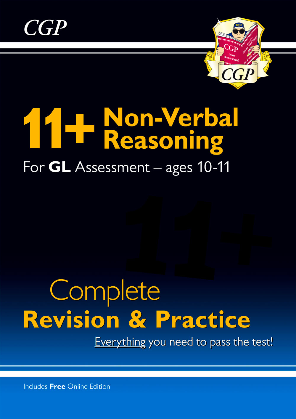NHSE1 - New 11+ GL Non-Verbal Reasoning Complete Revision and Practice - Ages 10-11 (with Online Edi