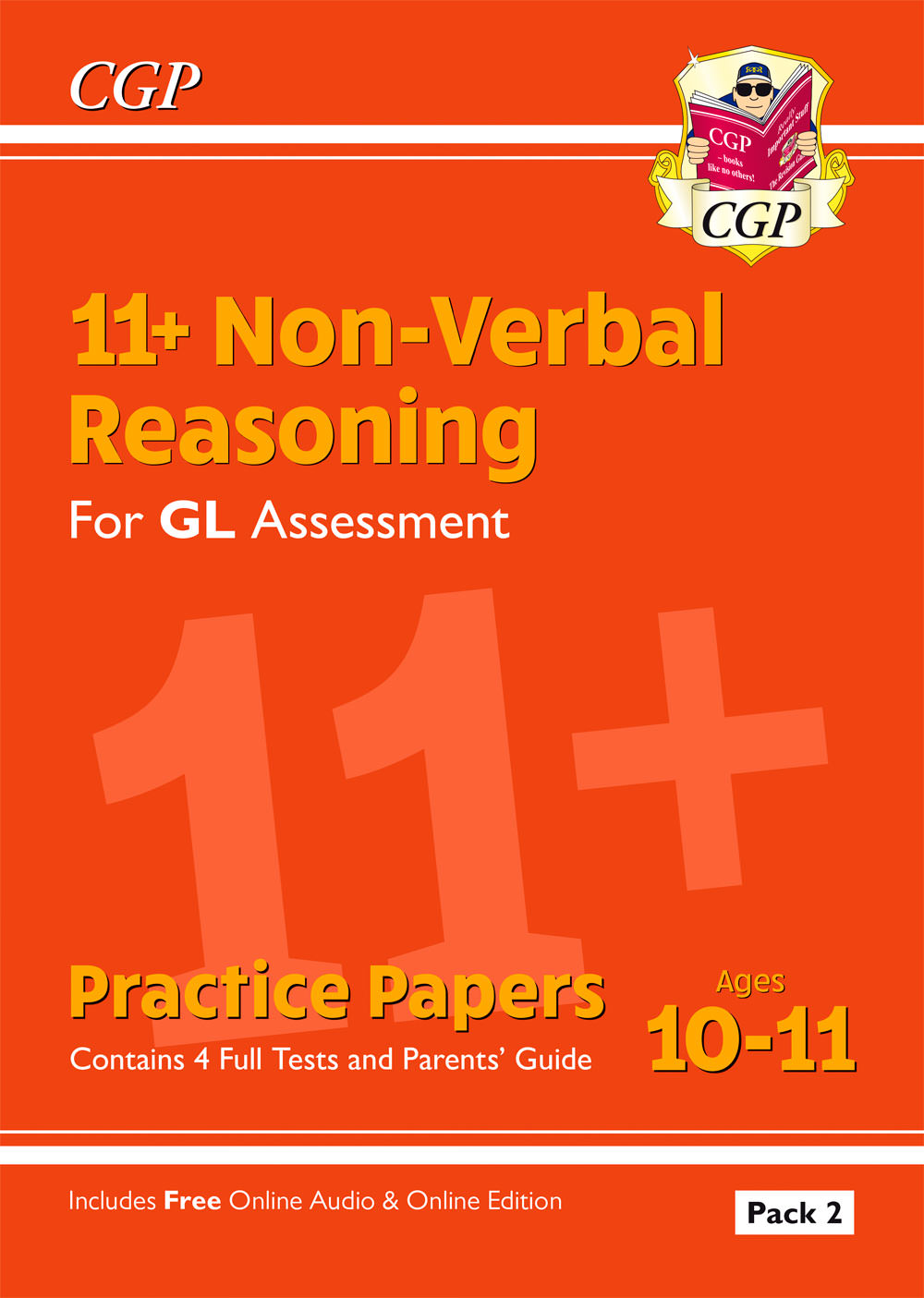 NHT2E2 - 11+ GL Non-Verbal Reasoning Practice Papers: Ages 10-11 Pack 2 (inc Parents' Guide & Online