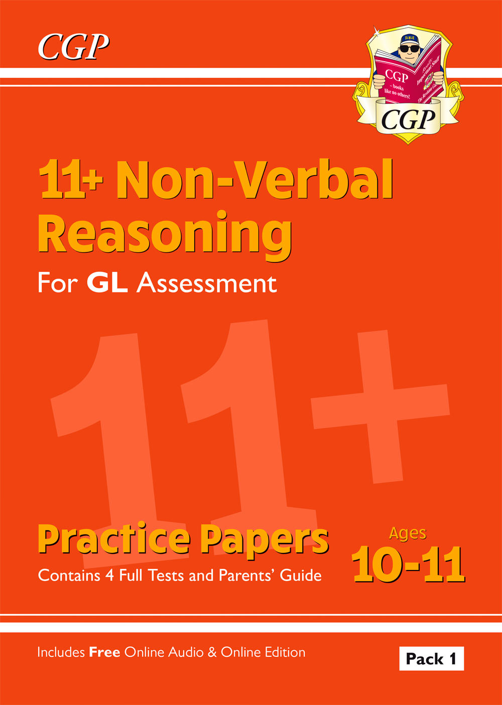 NHTE2 - New 11+ GL Non-Verbal Reasoning Practice Papers: Ages 10-11 Pack 1 (inc Parents' Guide & Onl