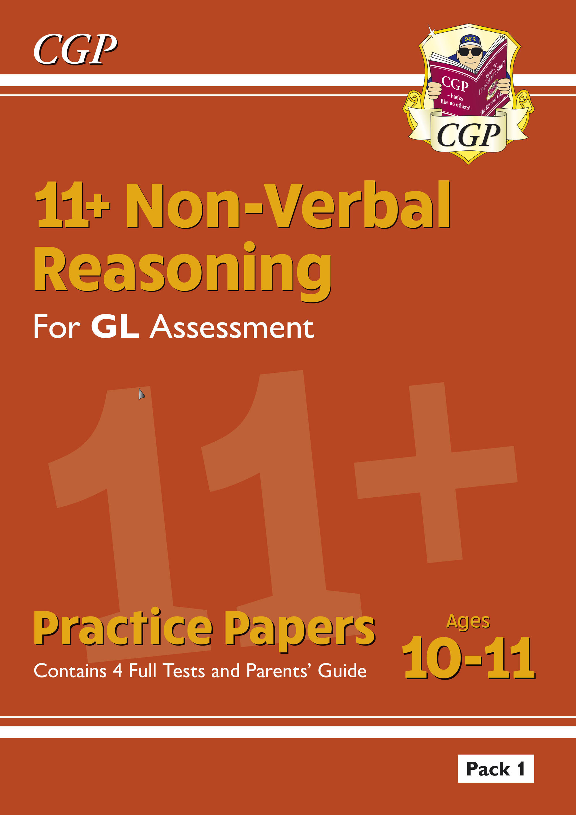 NHTE2DK - New 11+ GL Non-Verbal Reasoning Practice Papers: Pack 1 (with Parents' Guide)