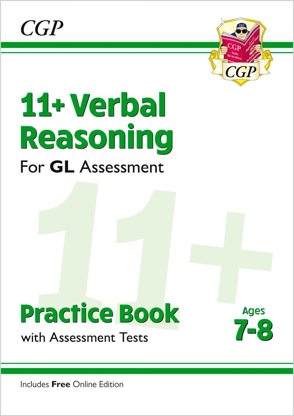 V3QE2 - 11+ GL Verbal Reasoning Practice Book & Assessment Tests - Ages 7-8 (with Online Edition)