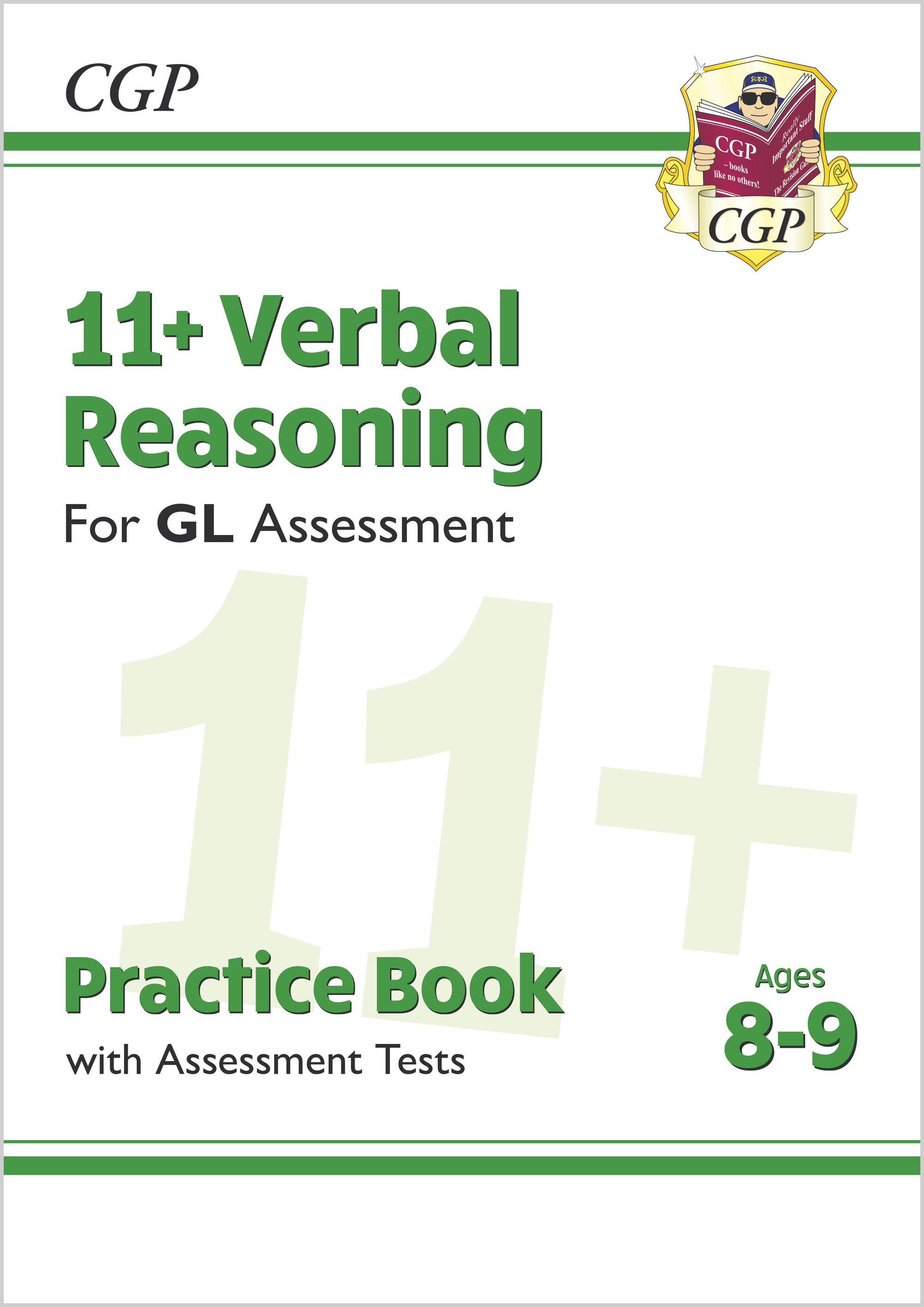 V4QE2DK - New 11+ GL Verbal Reasoning Practice Book & Assessment Tests - Ages 8-9