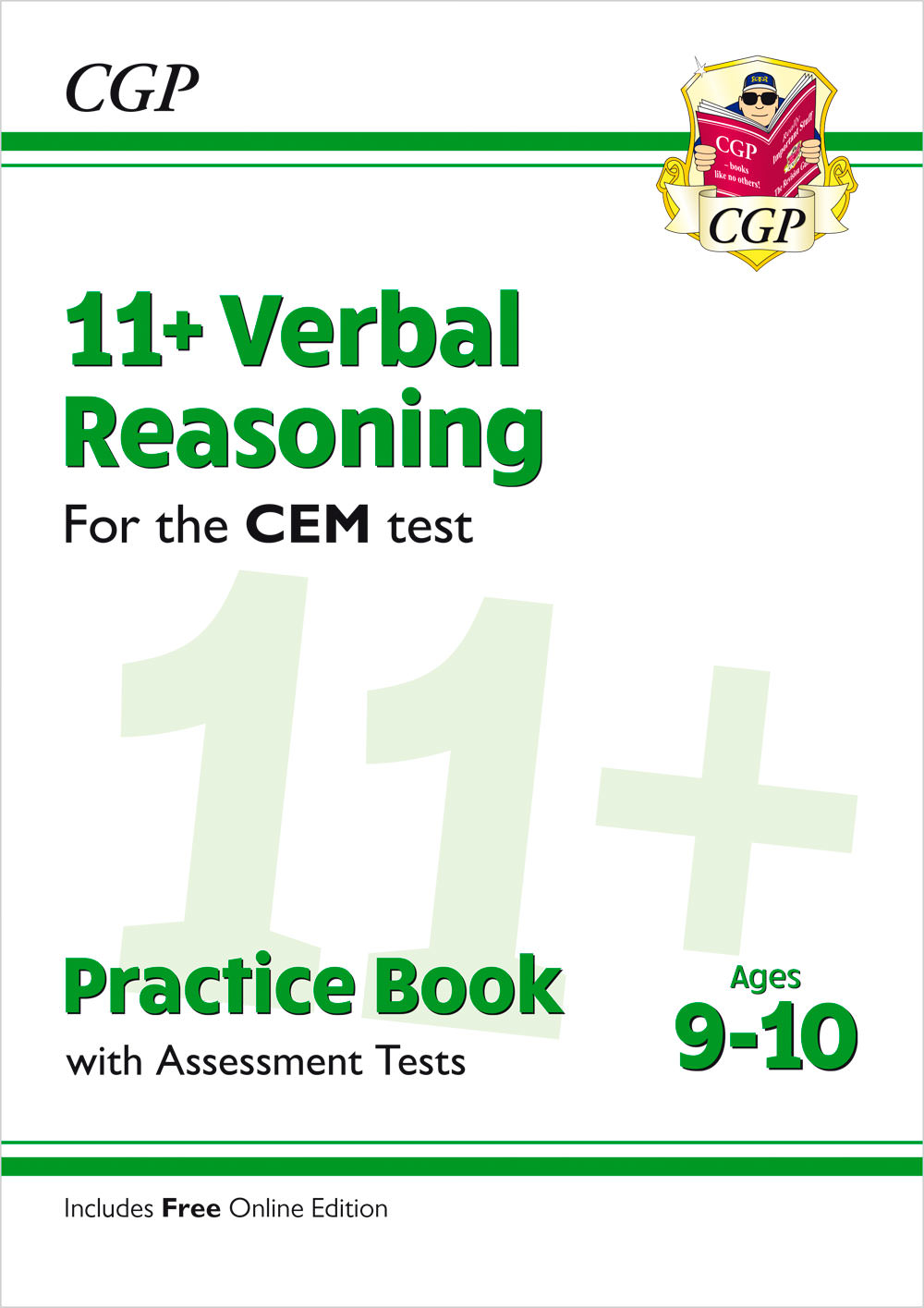 V5QDE2 - New 11+ CEM Verbal Reasoning Practice Book & Assessment Tests - Ages 9-10 (with Online Edit