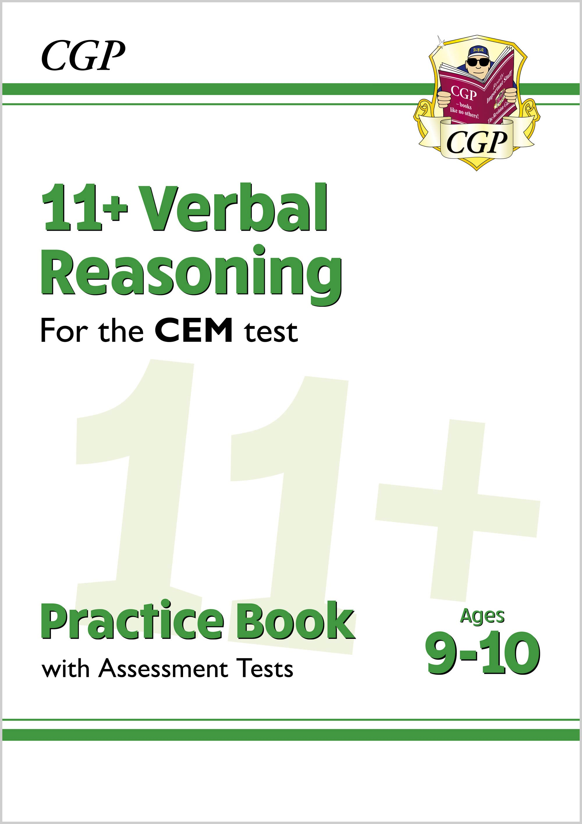 V5QDE2DK - New 11+ CEM Verbal Reasoning Practice Book & Assessment Tests - Ages 9-10 (with Online Ed