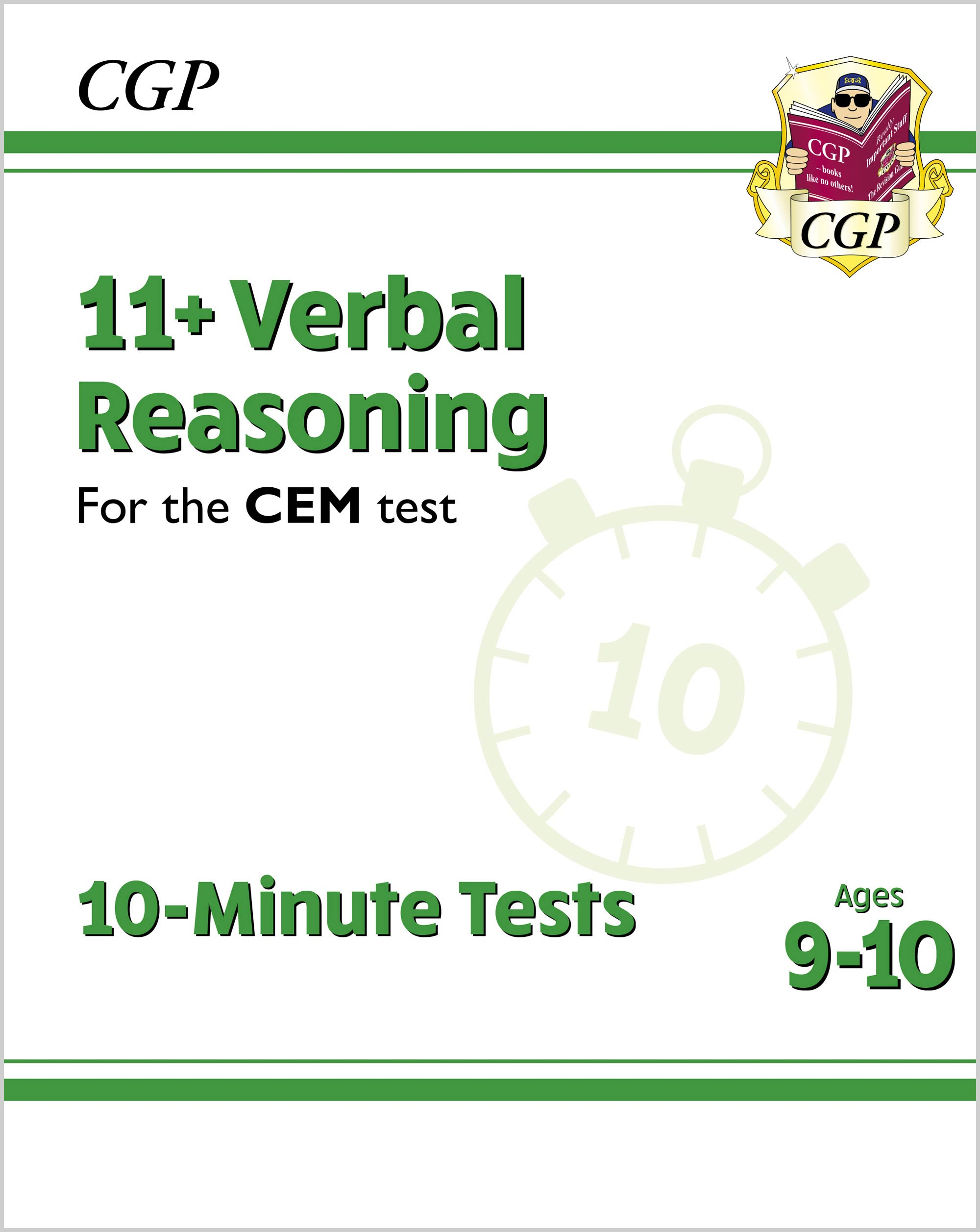 V5XPDE2DK - New 11+ CEM 10-Minute Tests: Verbal Reasoning - Ages 9-10 (with Online Edition)
