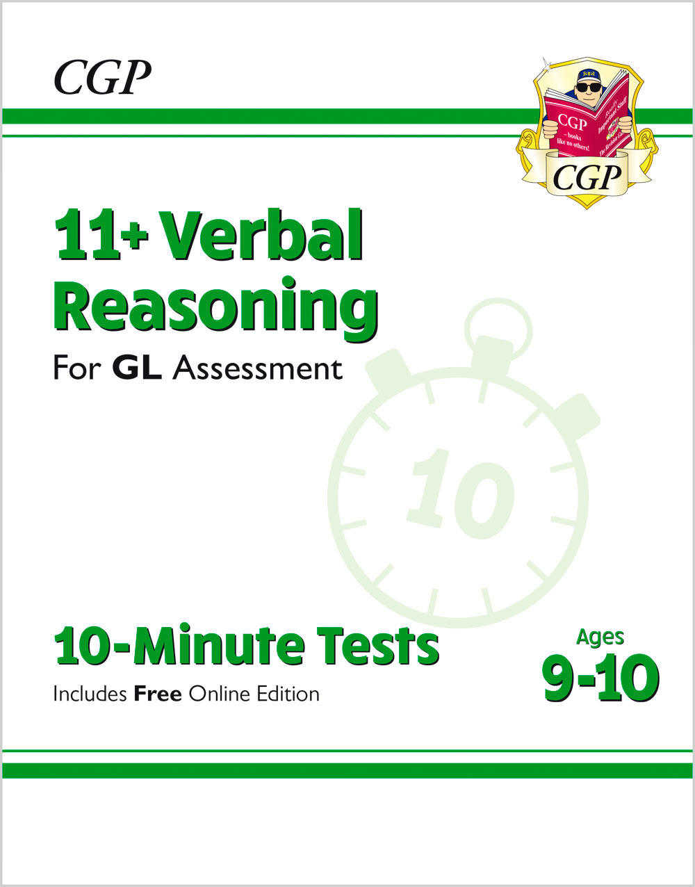 Z2191B7900 - tbc - 10-Minute Tests for 11+ Verbal Reasoning Ages 9-10 - GL