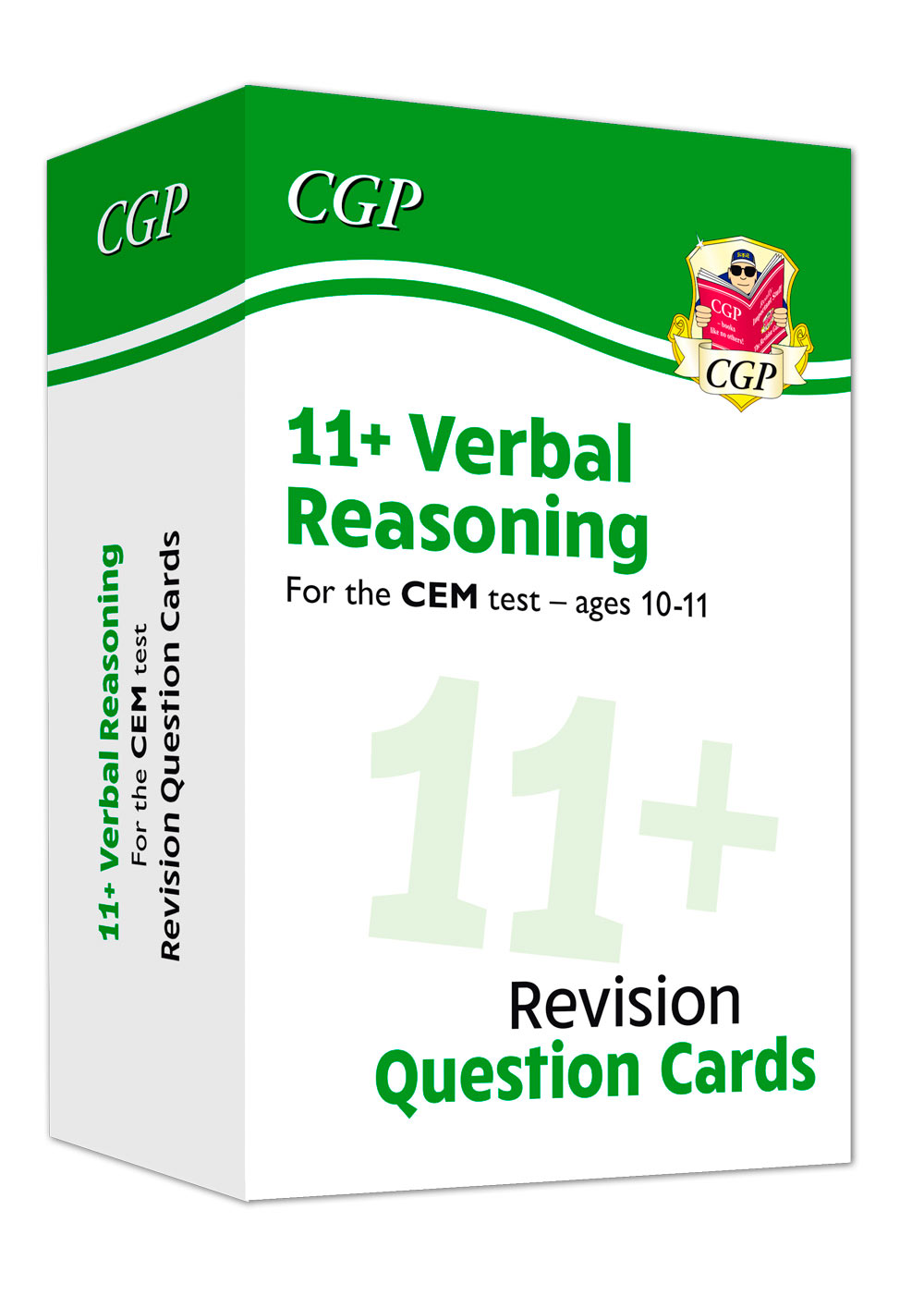 V6FDE1 - New 11+ CEM Verbal Reasoning Practice Question Cards - Ages 10-11