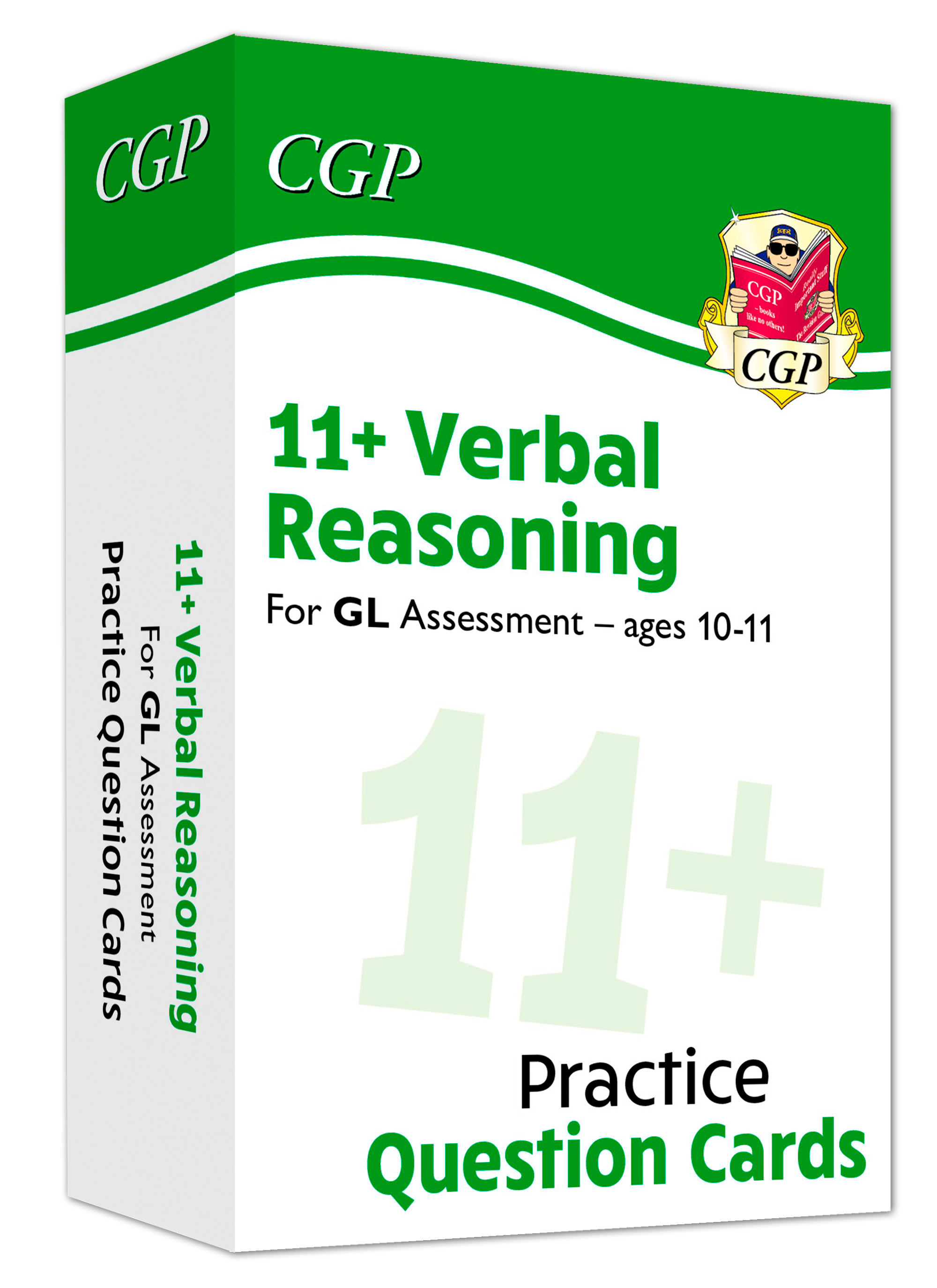 V6FE1 - New 11+ GL Verbal Reasoning Practice Question Cards - Ages 10-11