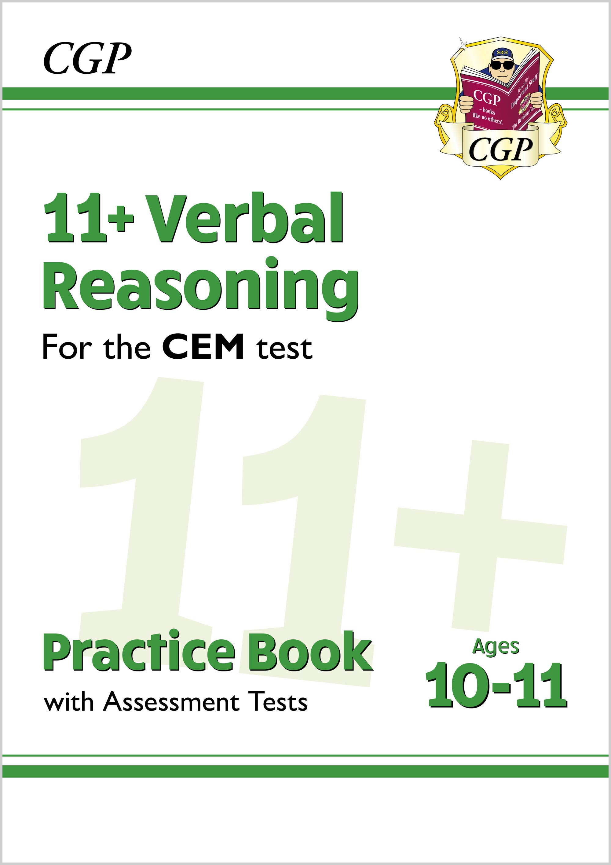 V6QDE2DK - New 11+ CEM Verbal Reasoning Practice Book & Assessment Tests - Ages 10-11 (with Online E