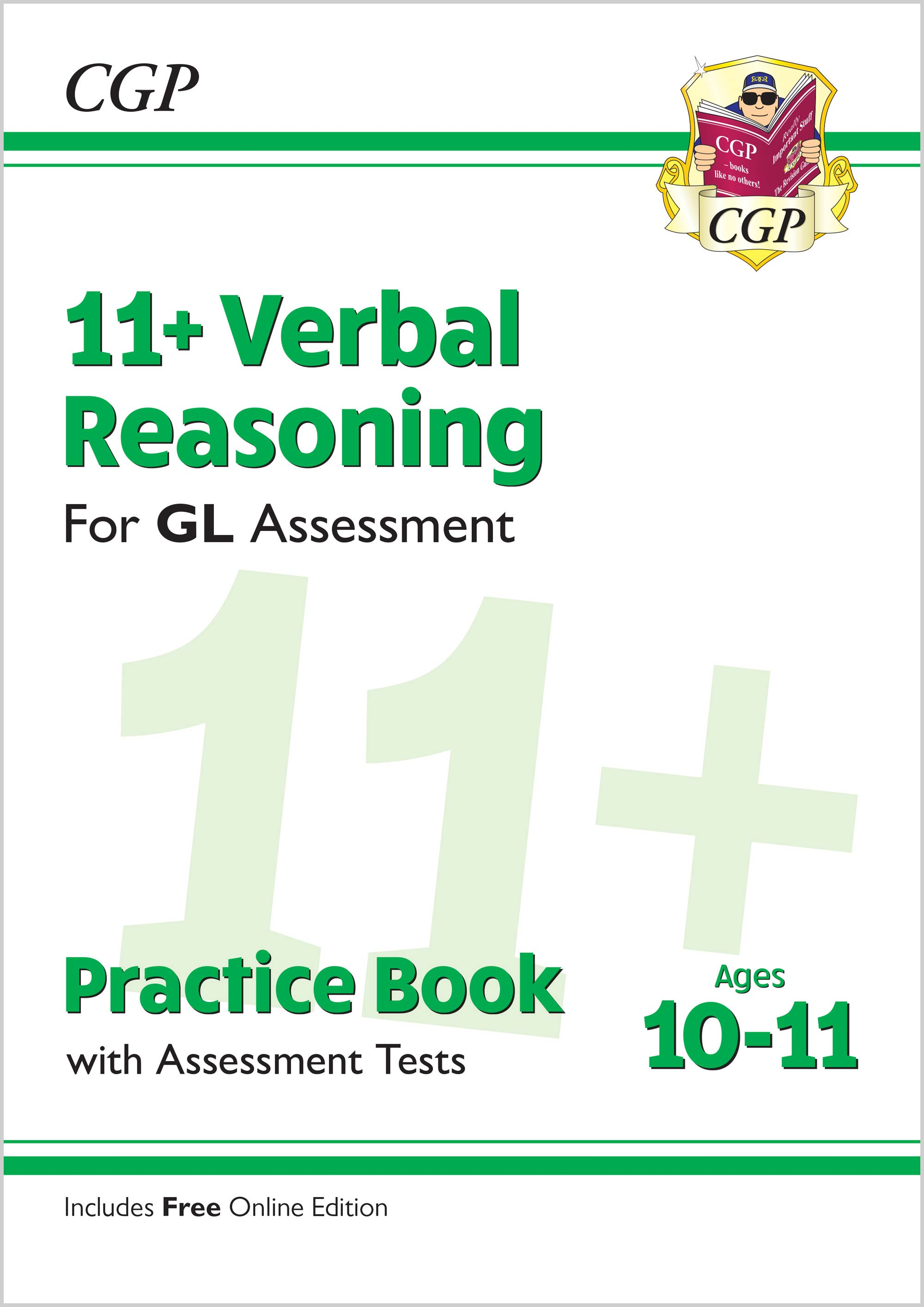 V6QE2 - New 11+ GL Verbal Reasoning Practice Book & Assessment Tests - Ages 10-11 (with Online Editi