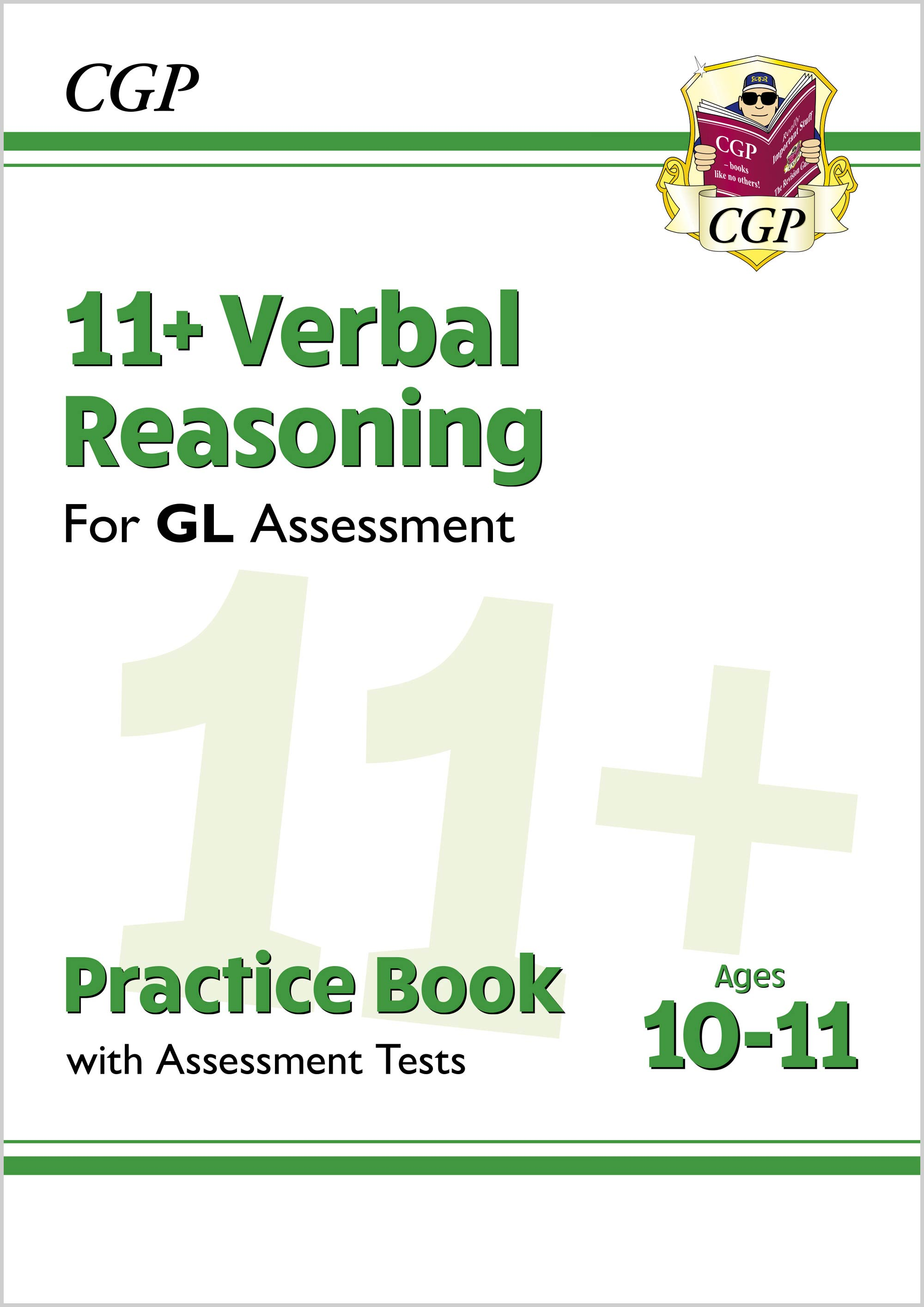 V6QE2DK - New 11+ GL Verbal Reasoning Practice Book & Assessment Tests - Ages 10-11 (with Online Edi