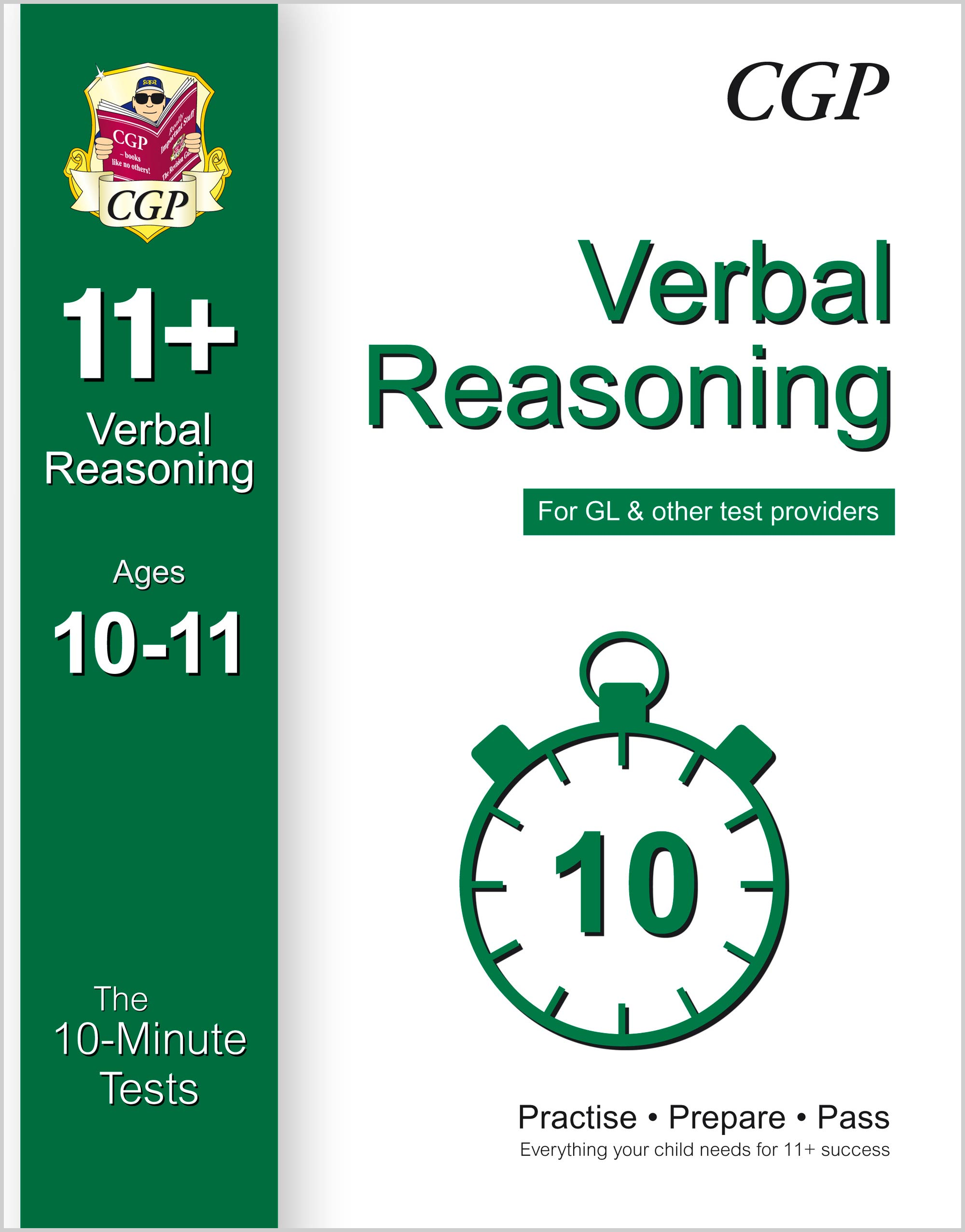 V6XPE1 - 10-Minute Tests for 11+ Verbal Reasoning Ages 10-11 (for GL & Other Test Providers)