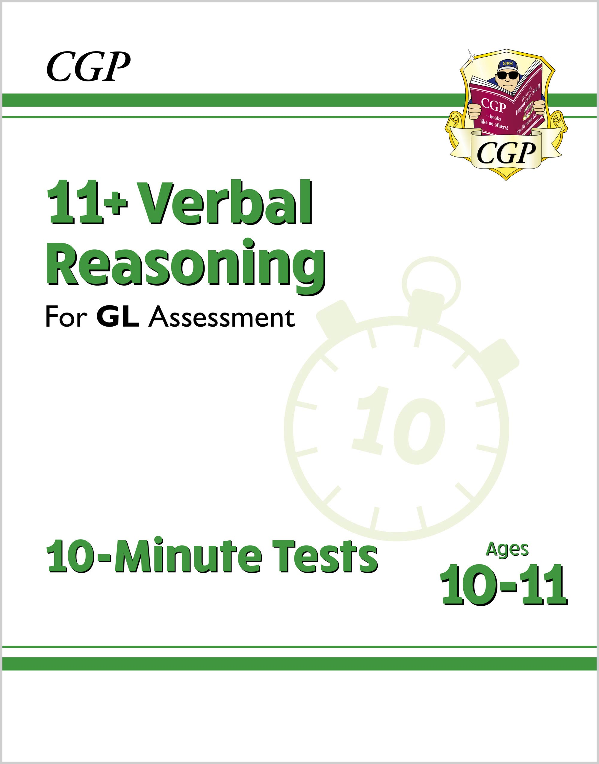 V6XPE2DK - New 11+ GL 10-Minute Tests: Verbal Reasoning - Ages 10-11 (with Online Edition)