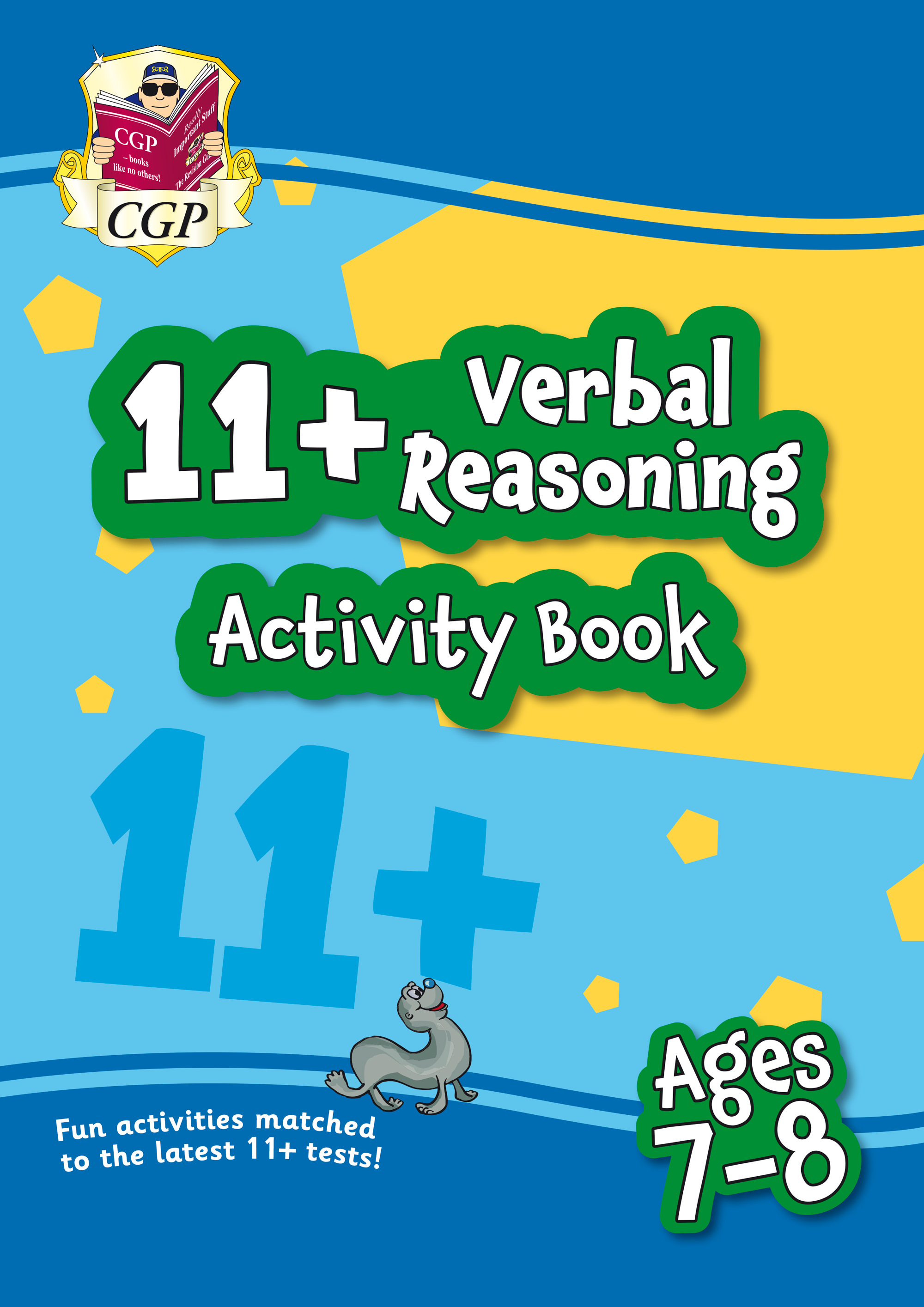 VF3QE1 - New 11+ Activity Book: Verbal Reasoning - Ages 7-8