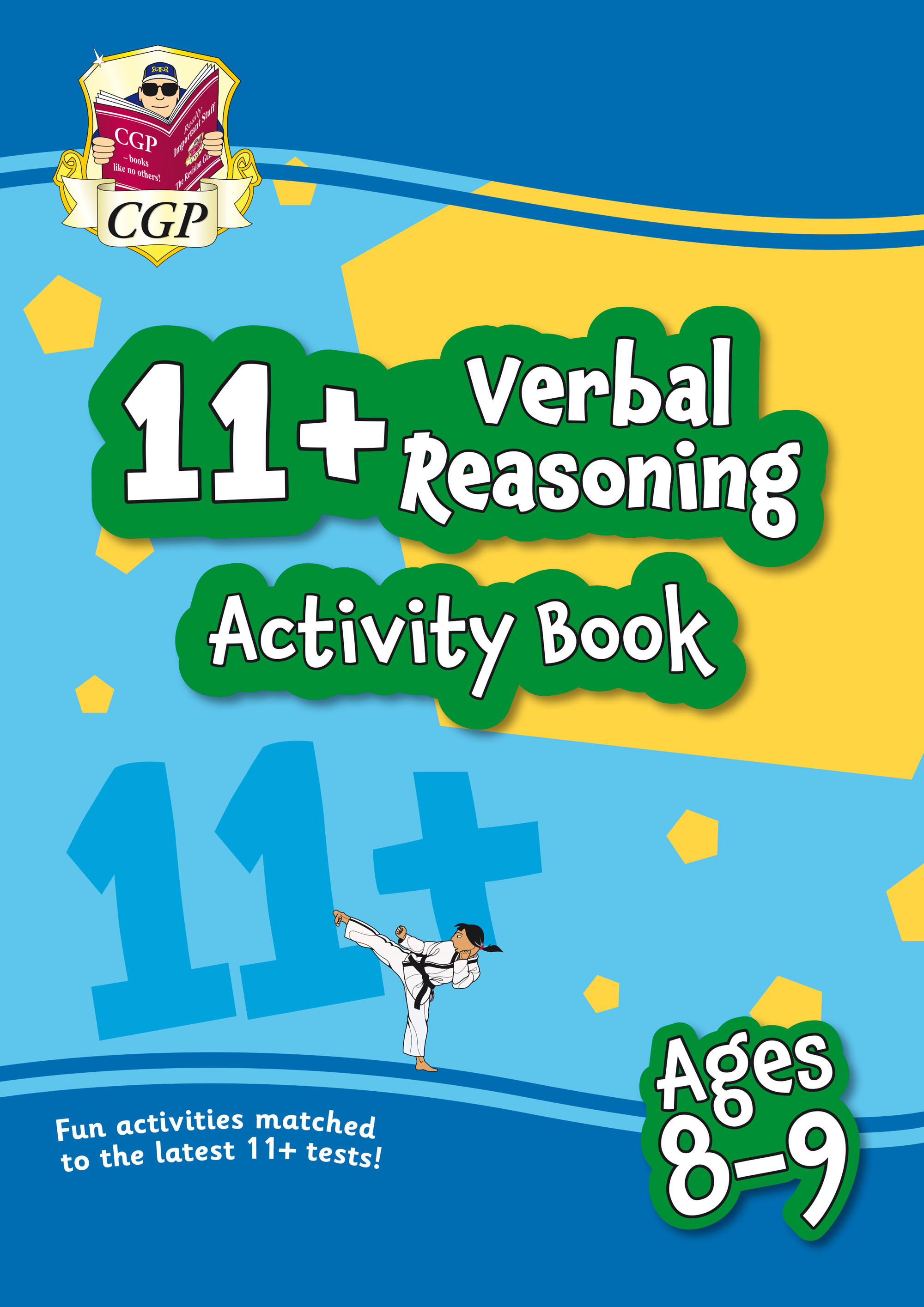 VF4QE1 - New 11+ Activity Book: Verbal Reasoning - Ages 8-9