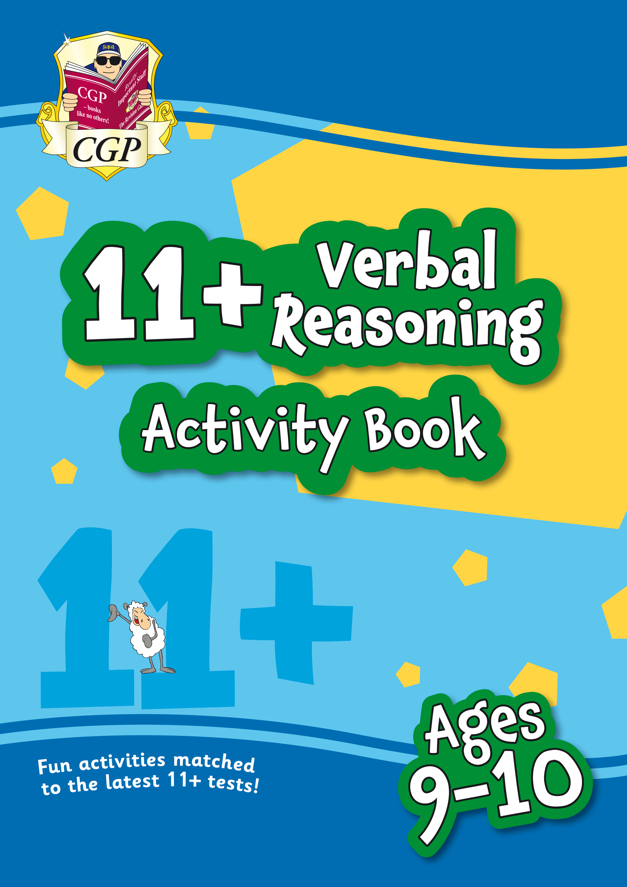 VF5QE1 - New 11+ Activity Book: Verbal Reasoning - Ages 9-10