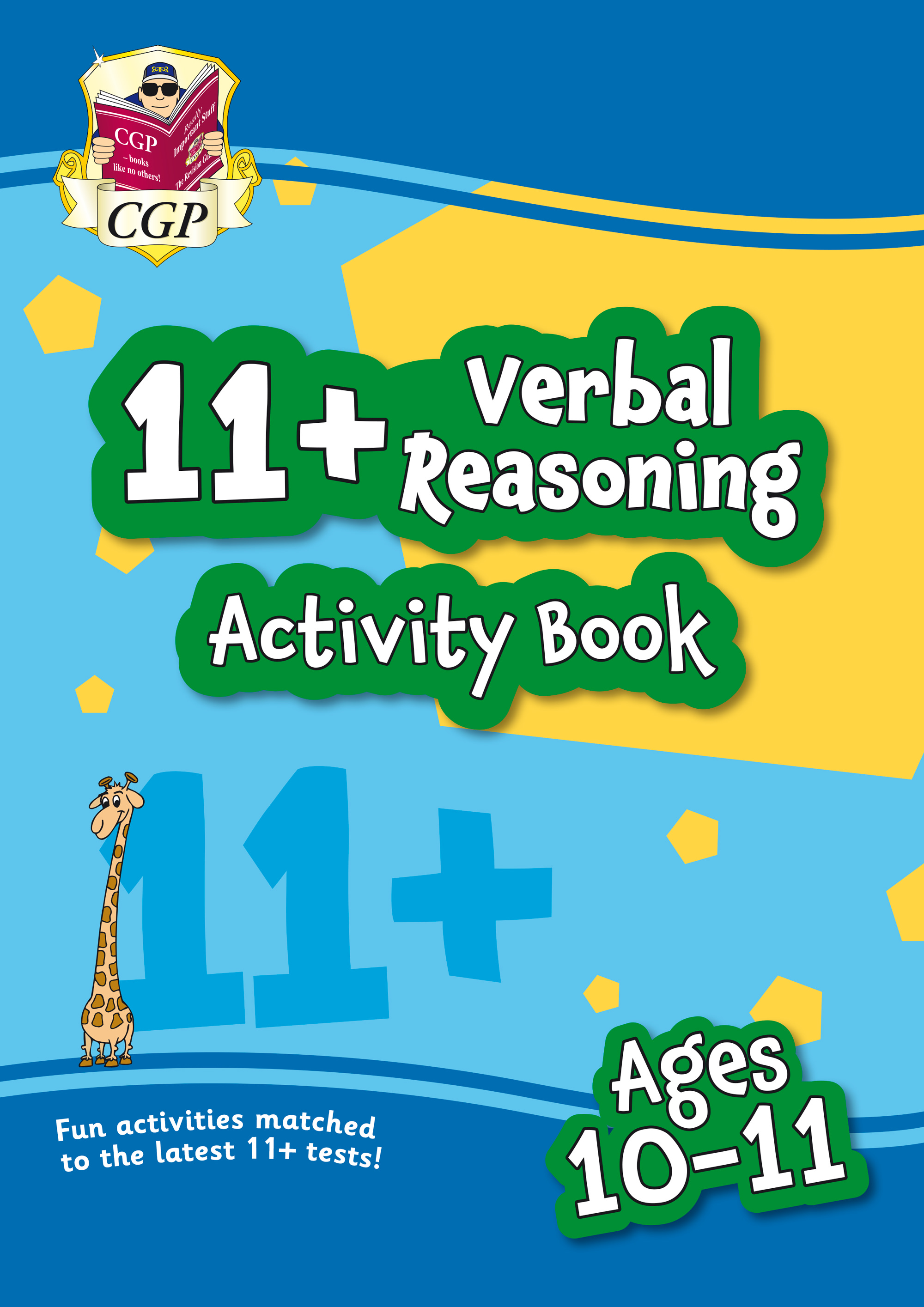 VF6QE1 - New 11+ Activity Book: Verbal Reasoning - Ages 10-11