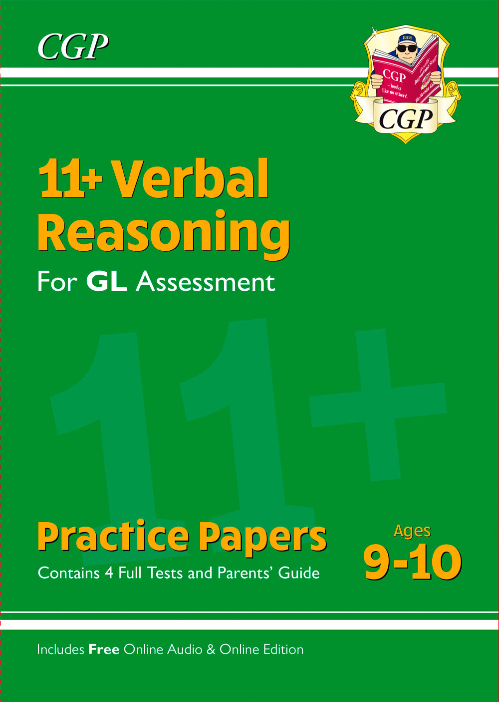 VH5PE1 - New 11+ GL Verbal Reasoning Practice Papers - Ages 9-10 (with Parents' Guide & Online Editi