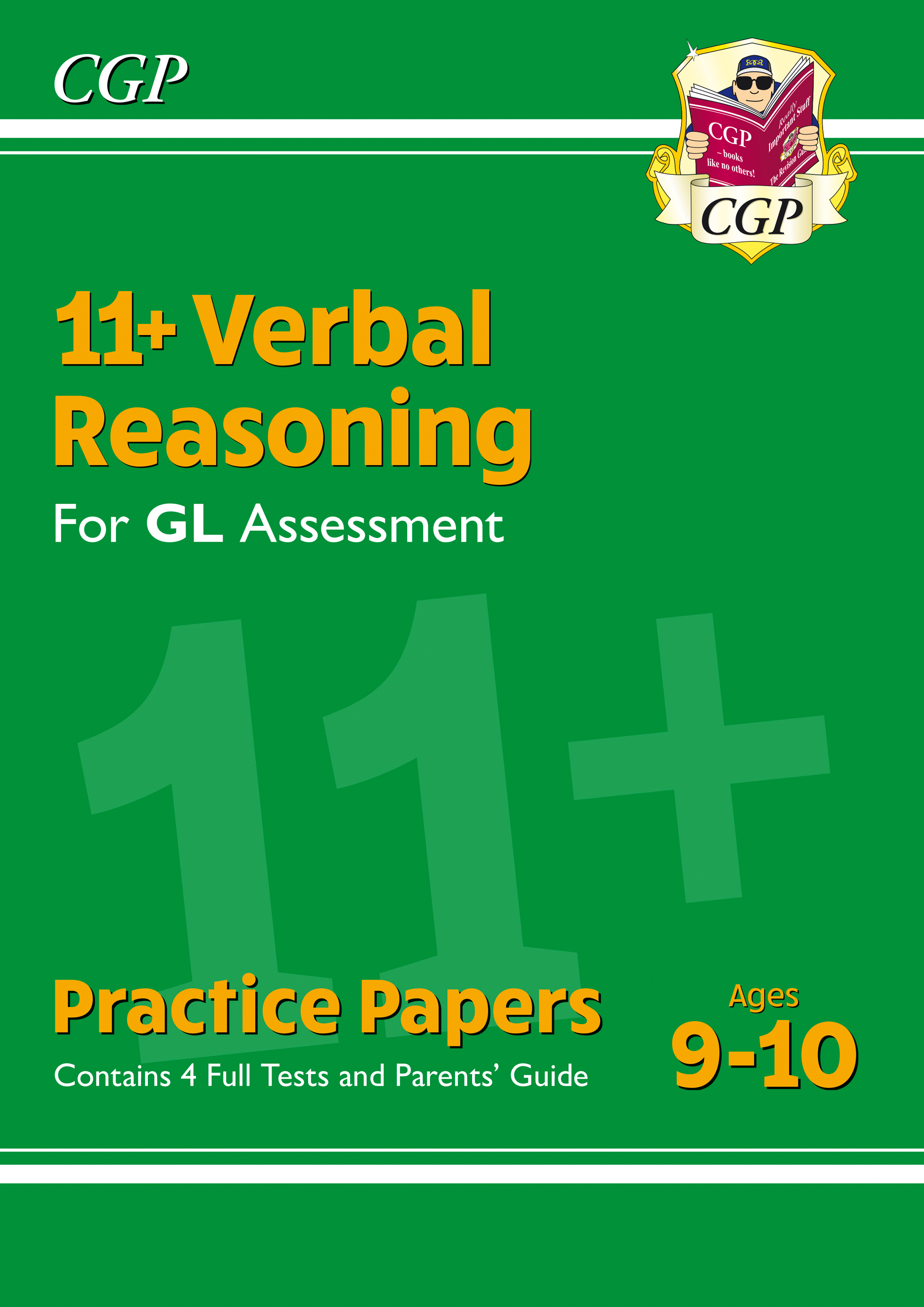 VH5PE1DK - New 11+ GL Verbal Reasoning Practice Papers - Ages 9-10 (with Parents' Guide)