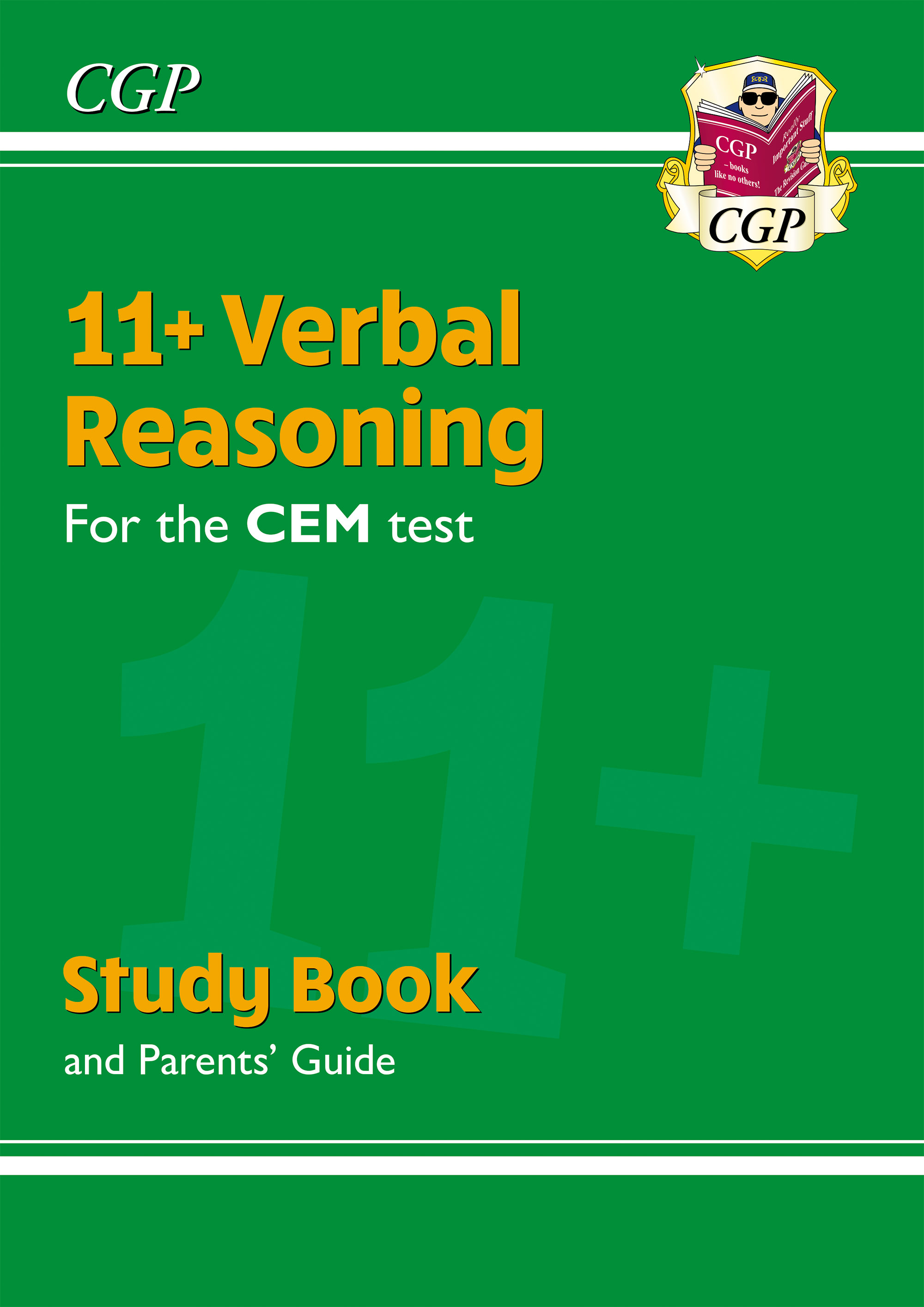 VHRDE2DK - New 11+ CEM Verbal Reasoning Study Book (with Parents' Guide & Online Edition)