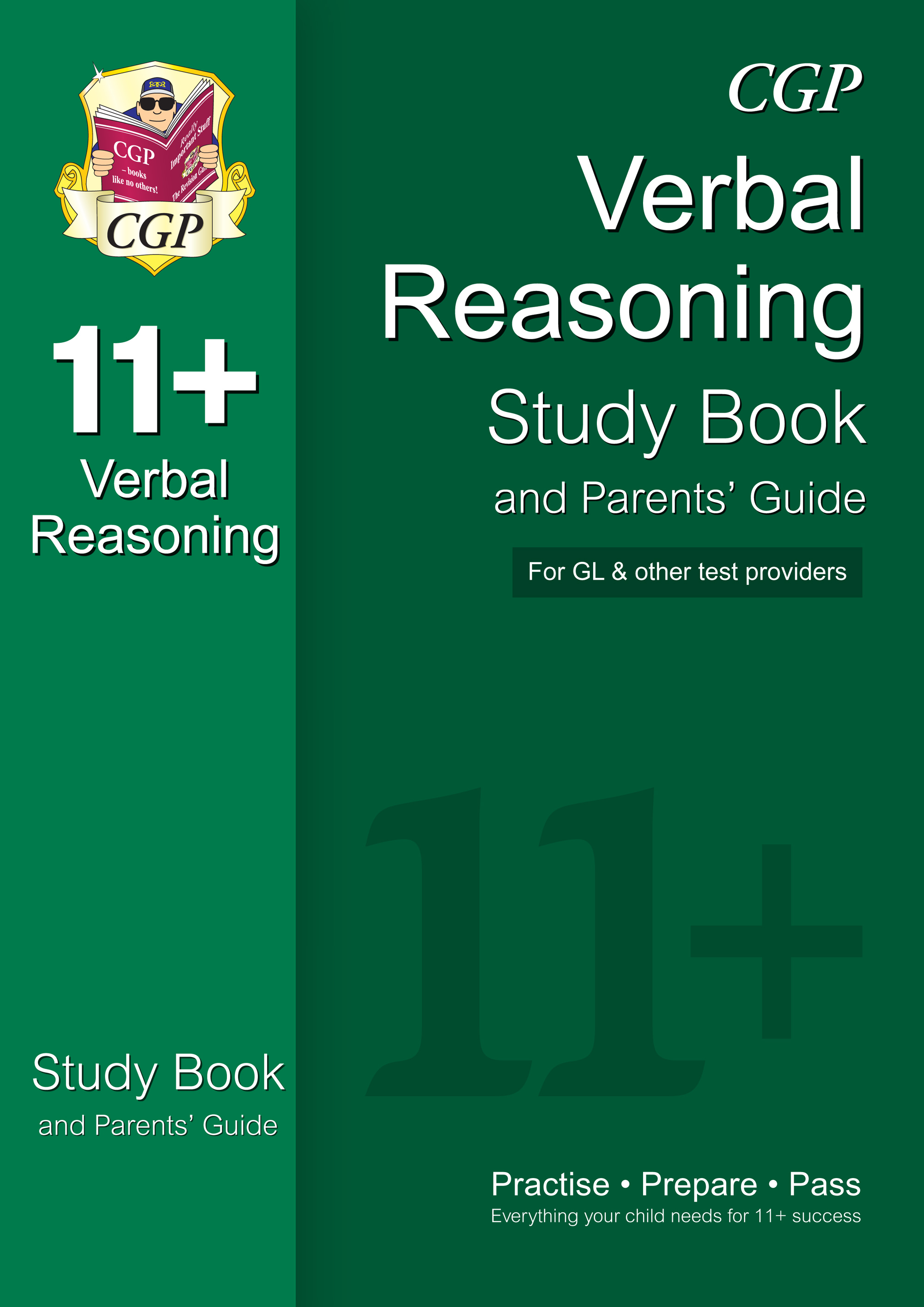 VHRE1 - 11+ Verbal Reasoning Study Book and Parents' Guide (for GL & Other Test Providers)