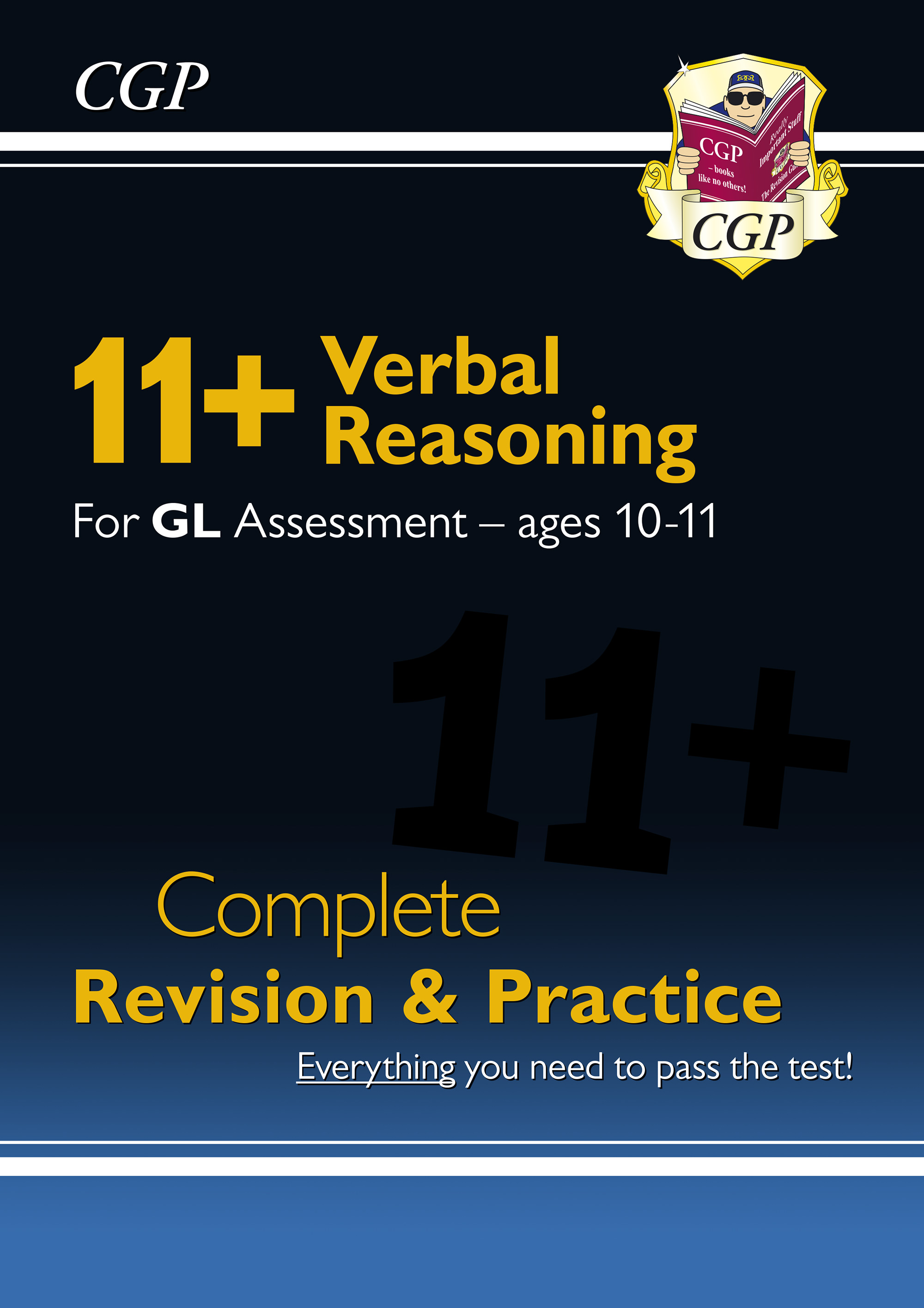 VHSE1DK - New 11+ GL Verbal Reasoning Complete Revision and Practice - Ages 10-11