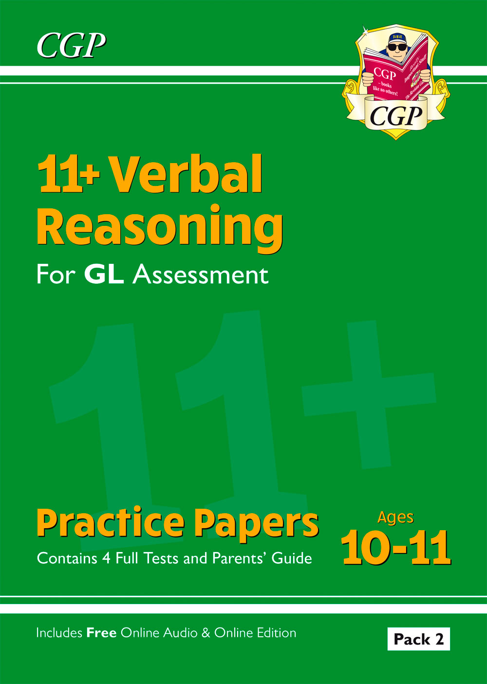 VHT2E2 - New 11+ GL Verbal Reasoning Practice Papers: Ages 10-11 - Pack 2 (with Parents' Guide & Onl