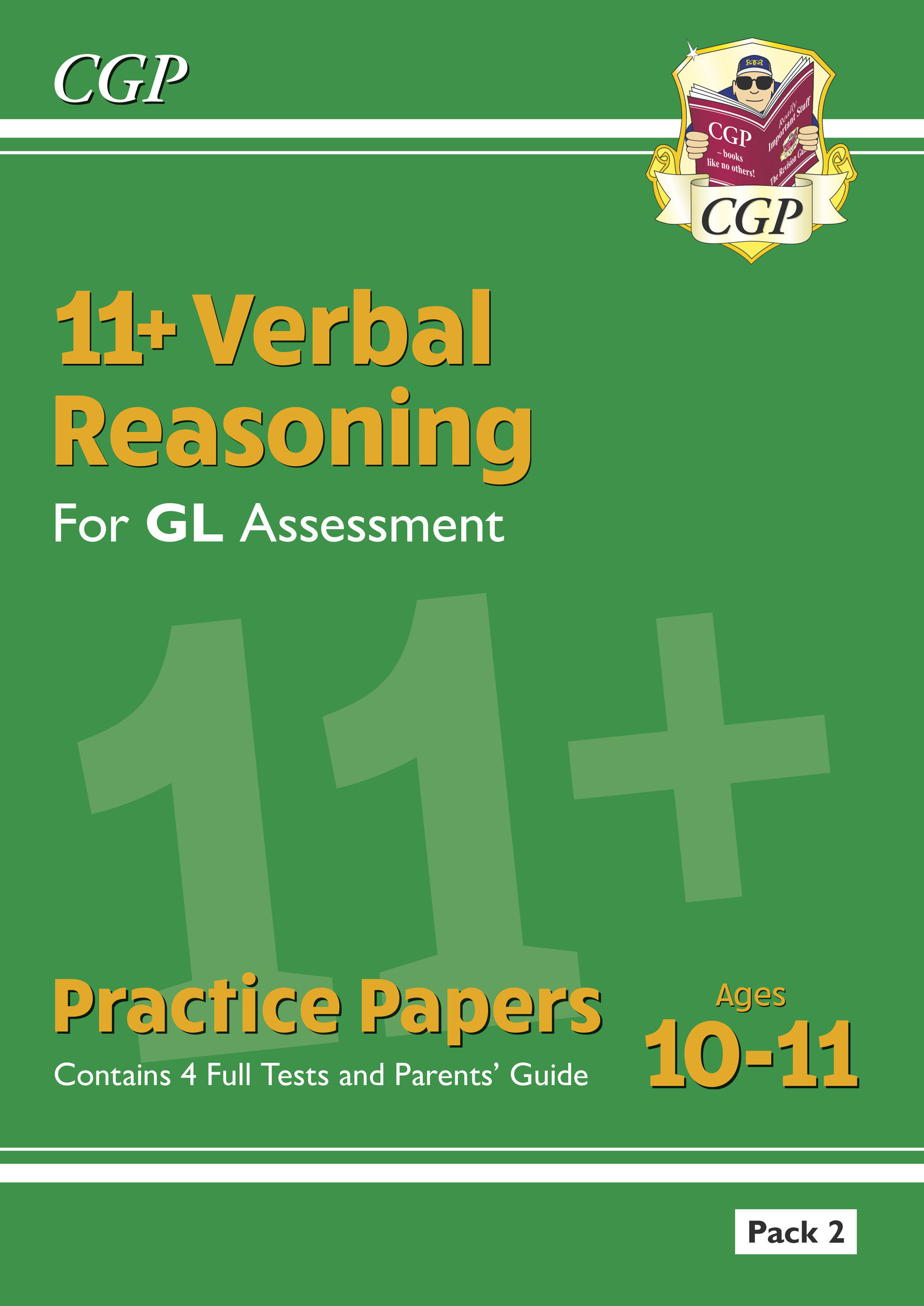 VHT2E2DK - New 11+ GL Verbal Reasoning Practice Papers: Pack 2 (with Parents' Guide)