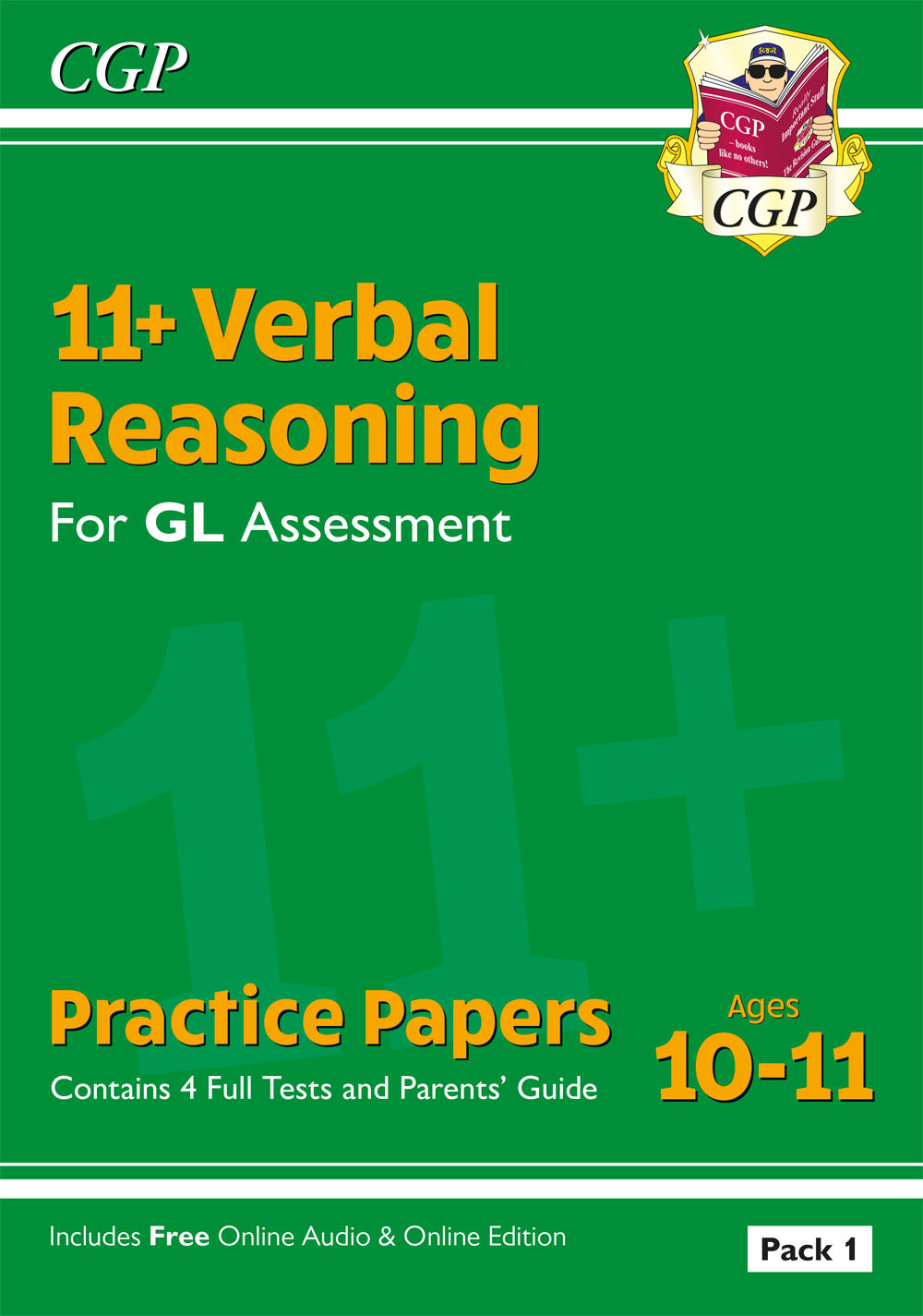 VHTE2 - New 11+ GL Verbal Reasoning Practice Papers: Ages 10-11 - Pack 1 (with Parents' Guide & Onli