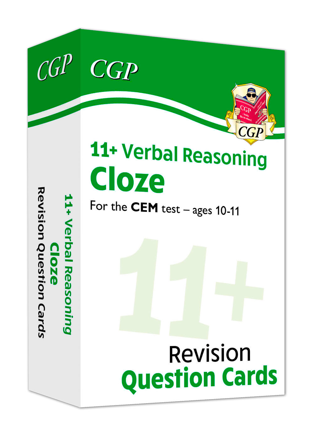 VLFDE1 - New 11+ CEM Revision Question Cards: Verbal Reasoning Cloze - Ages 10-11