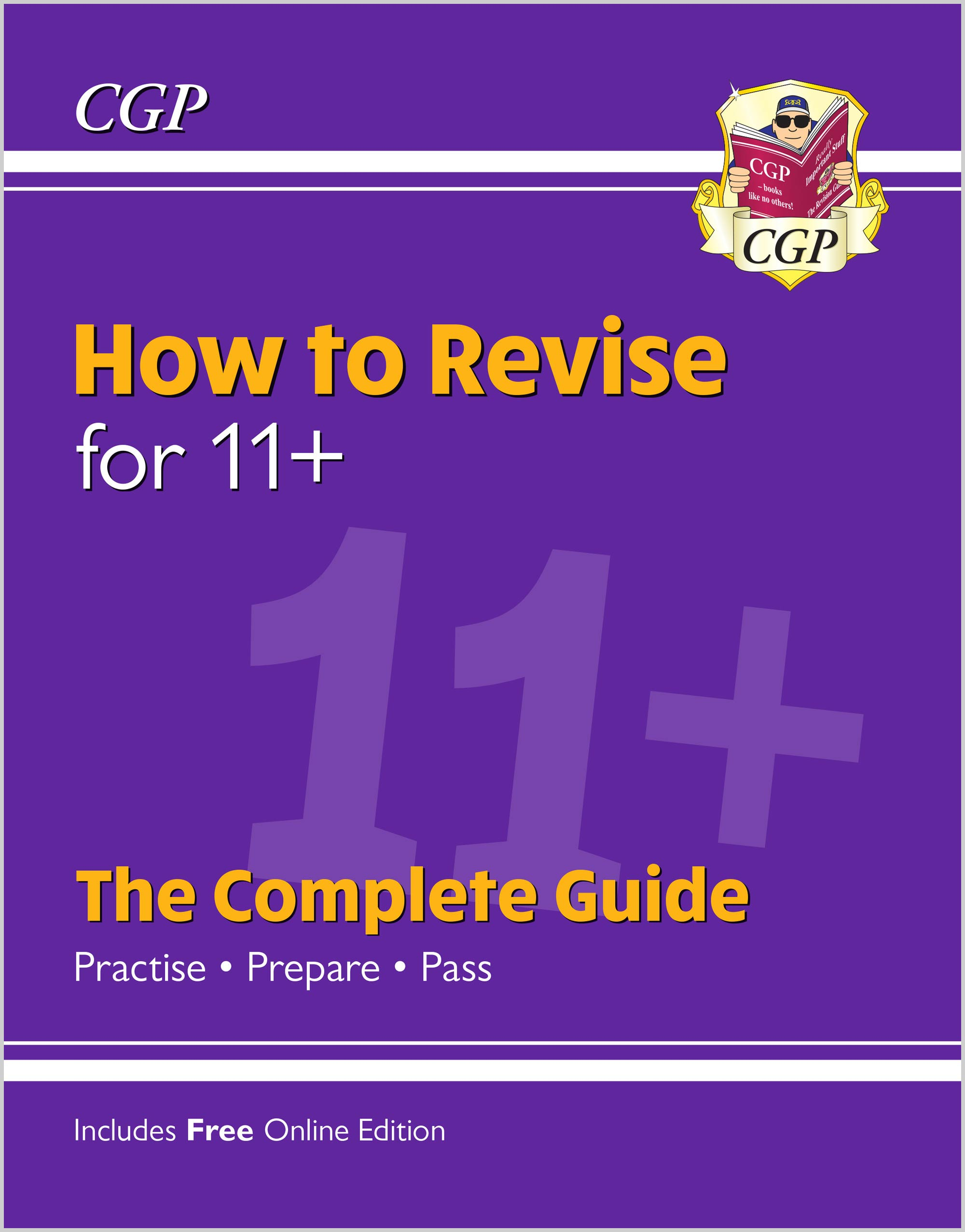 XHRE1 - How to Revise for 11+: The Complete Guide (with Online Edition)