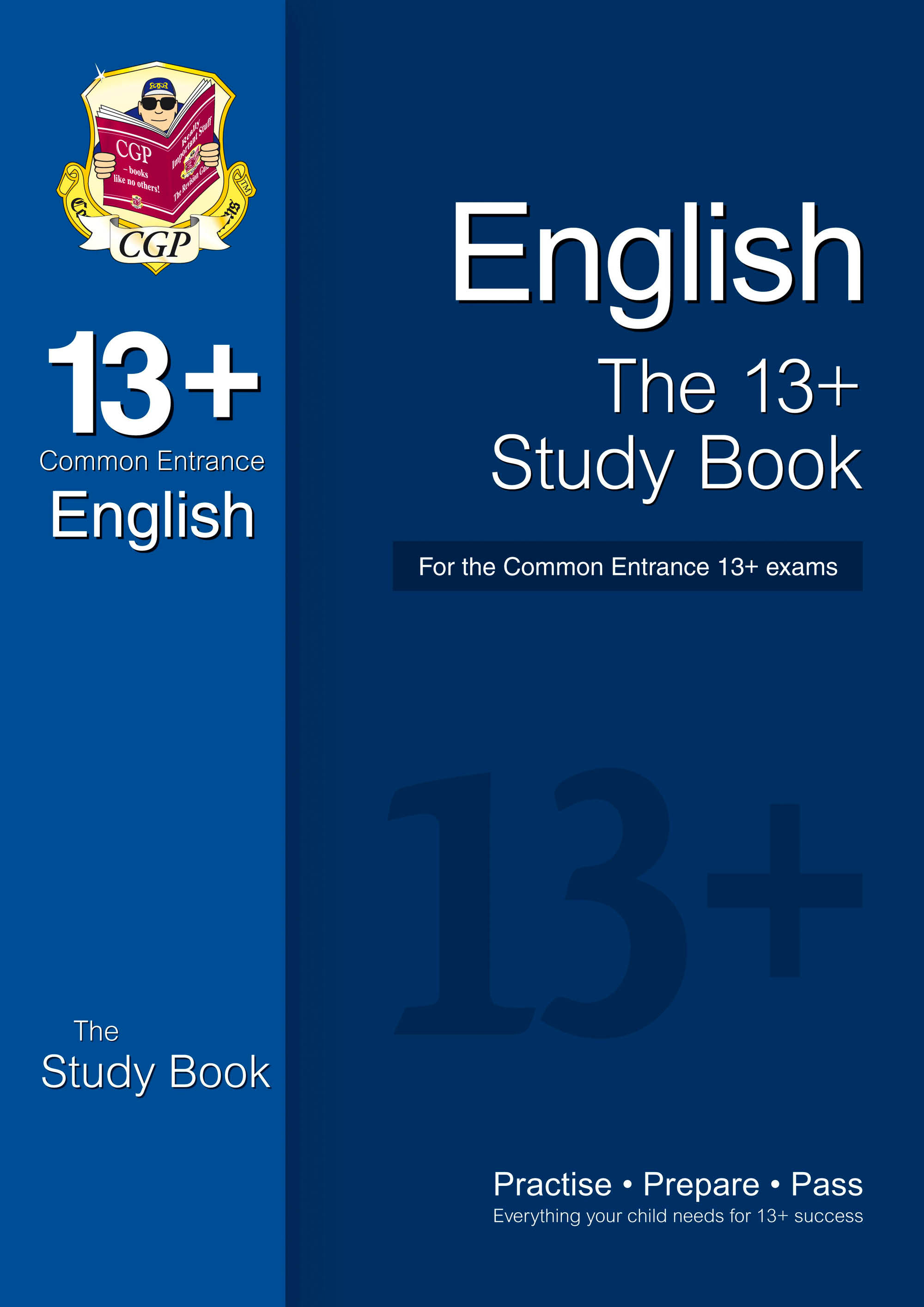 EIRT2DK - The 13+ English Study Book for the Common Entrance Exams (with online edition)