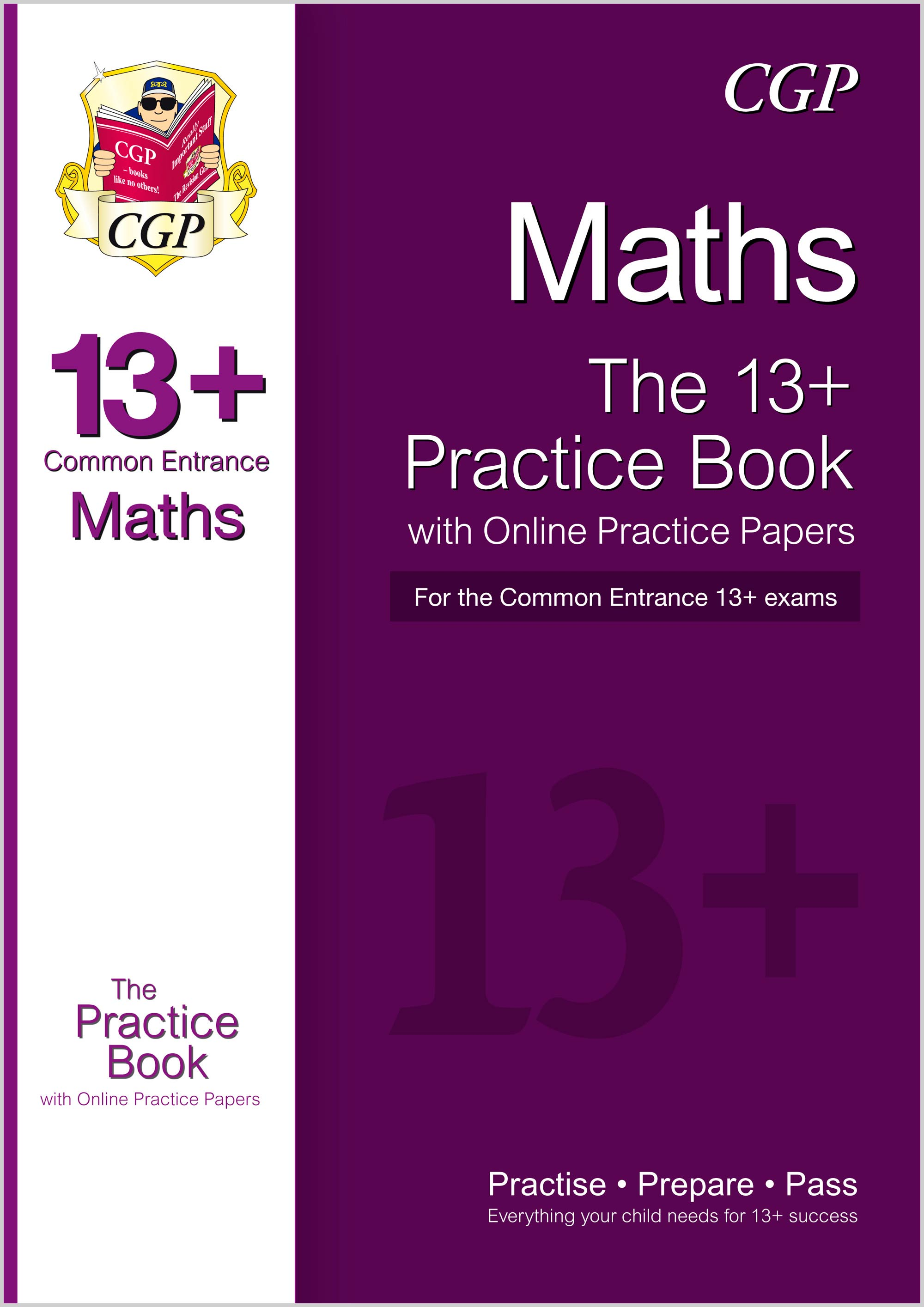 MIQT3 - New 13+ Maths Practice Book for the Common Entrance Exams with Answers & Online Practice Pap