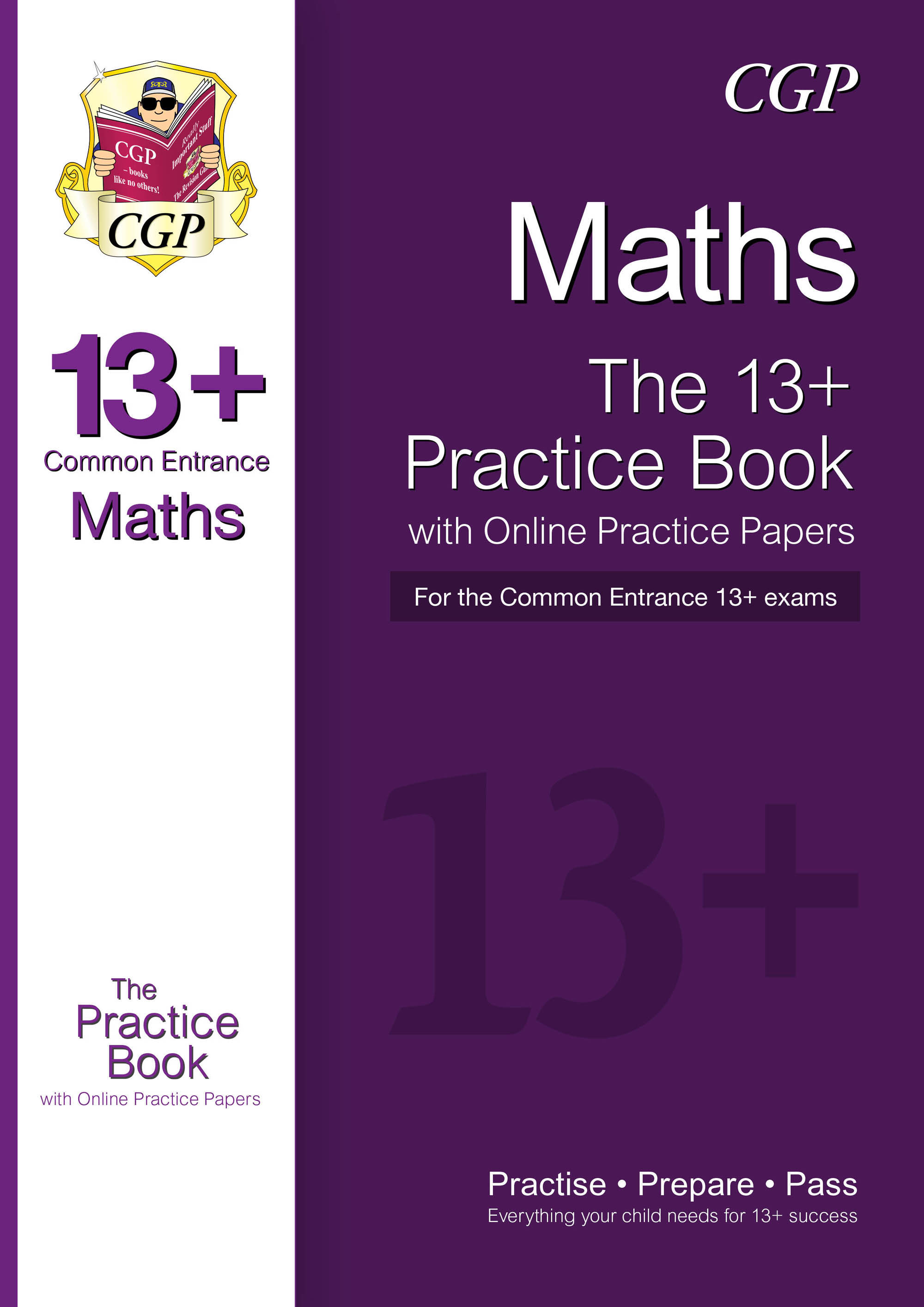 MIQT3DK - New 13+ Maths Practice Book for the Common Entrance Exams with Answers