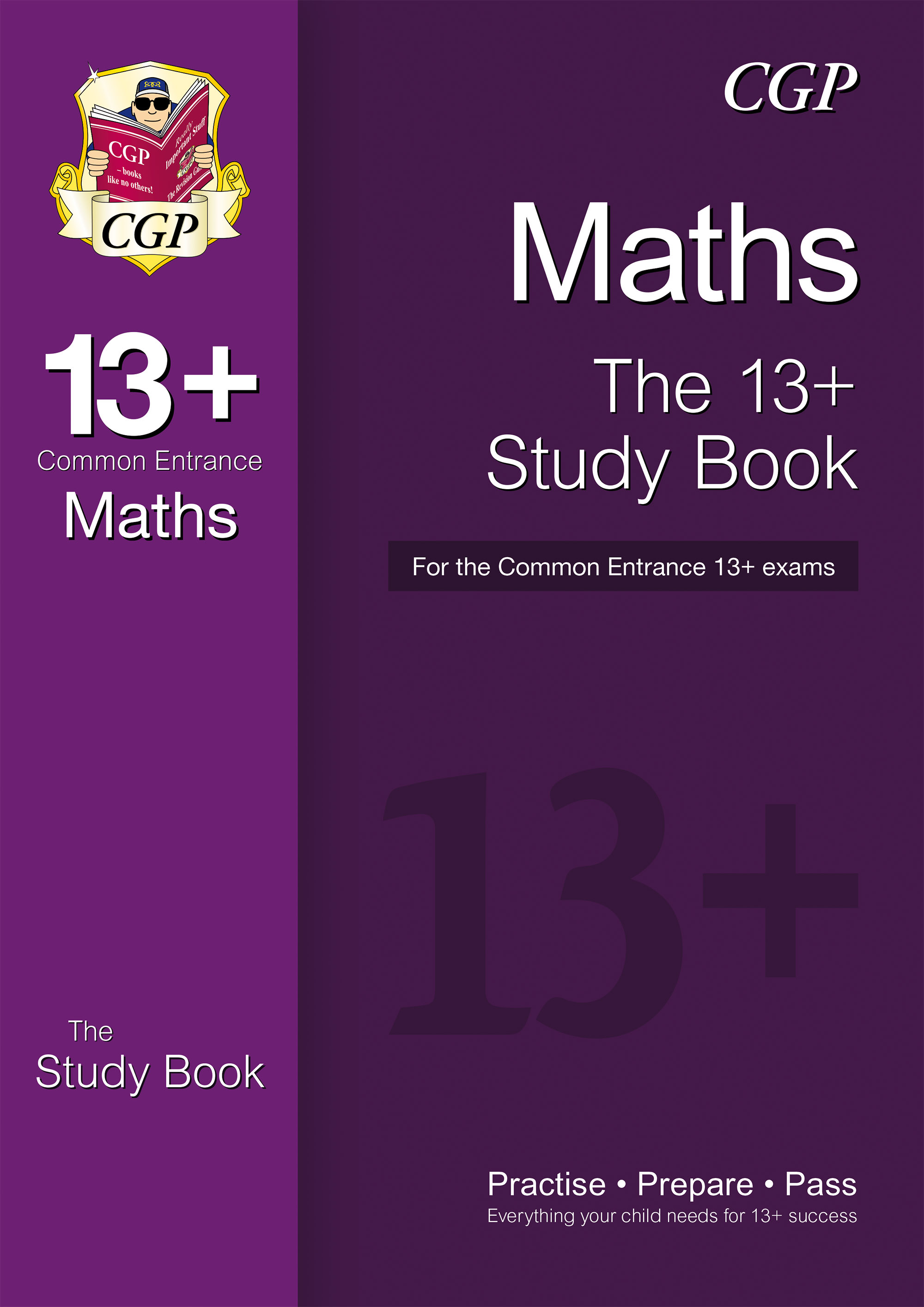 MIRT3D - 13+ Maths Study Book for the Common Entrance Exams Online Edition