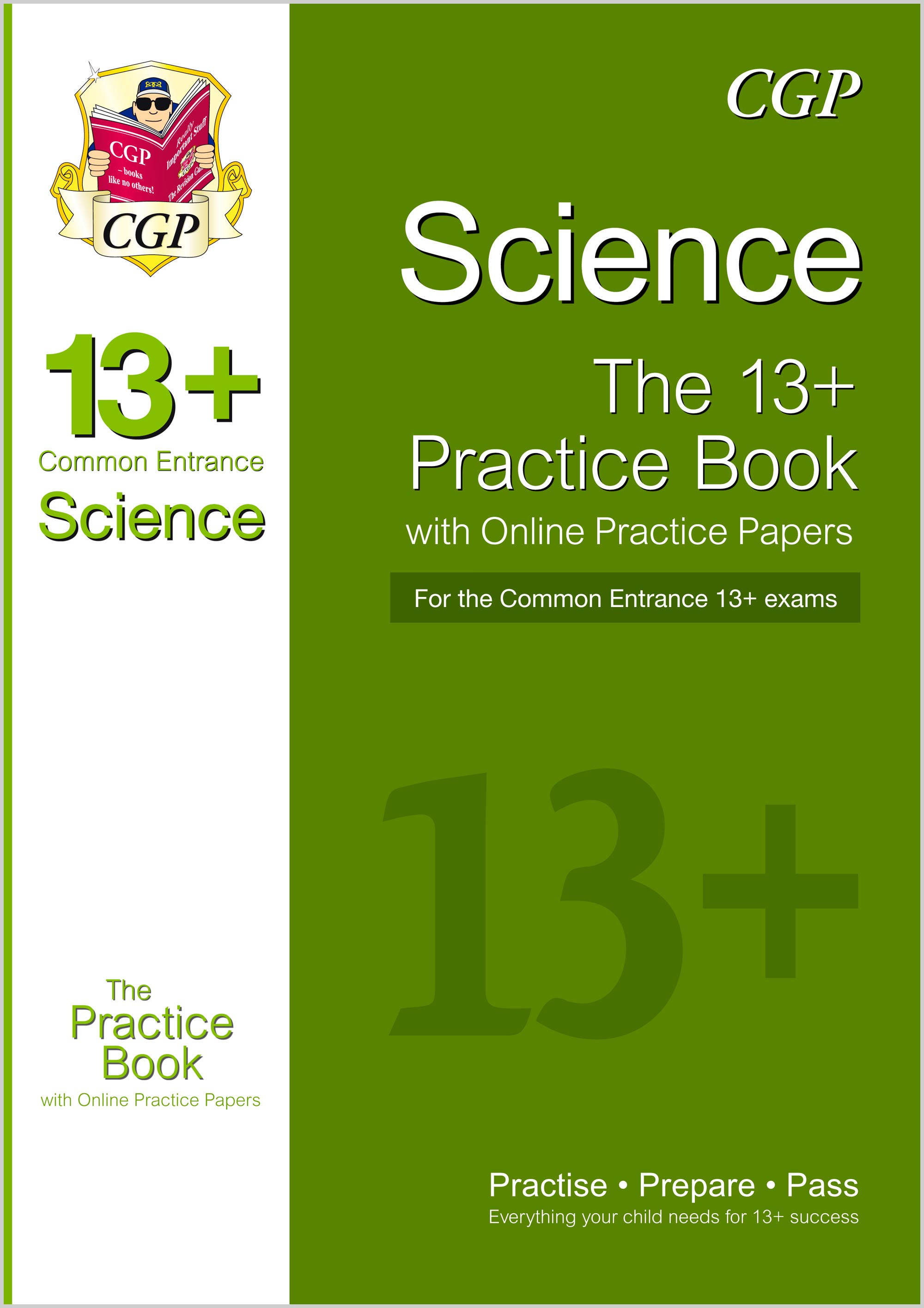 SIQT1 - New 13+ Science Practice Book for the Common Entrance Exams with Answers & Online Practice P