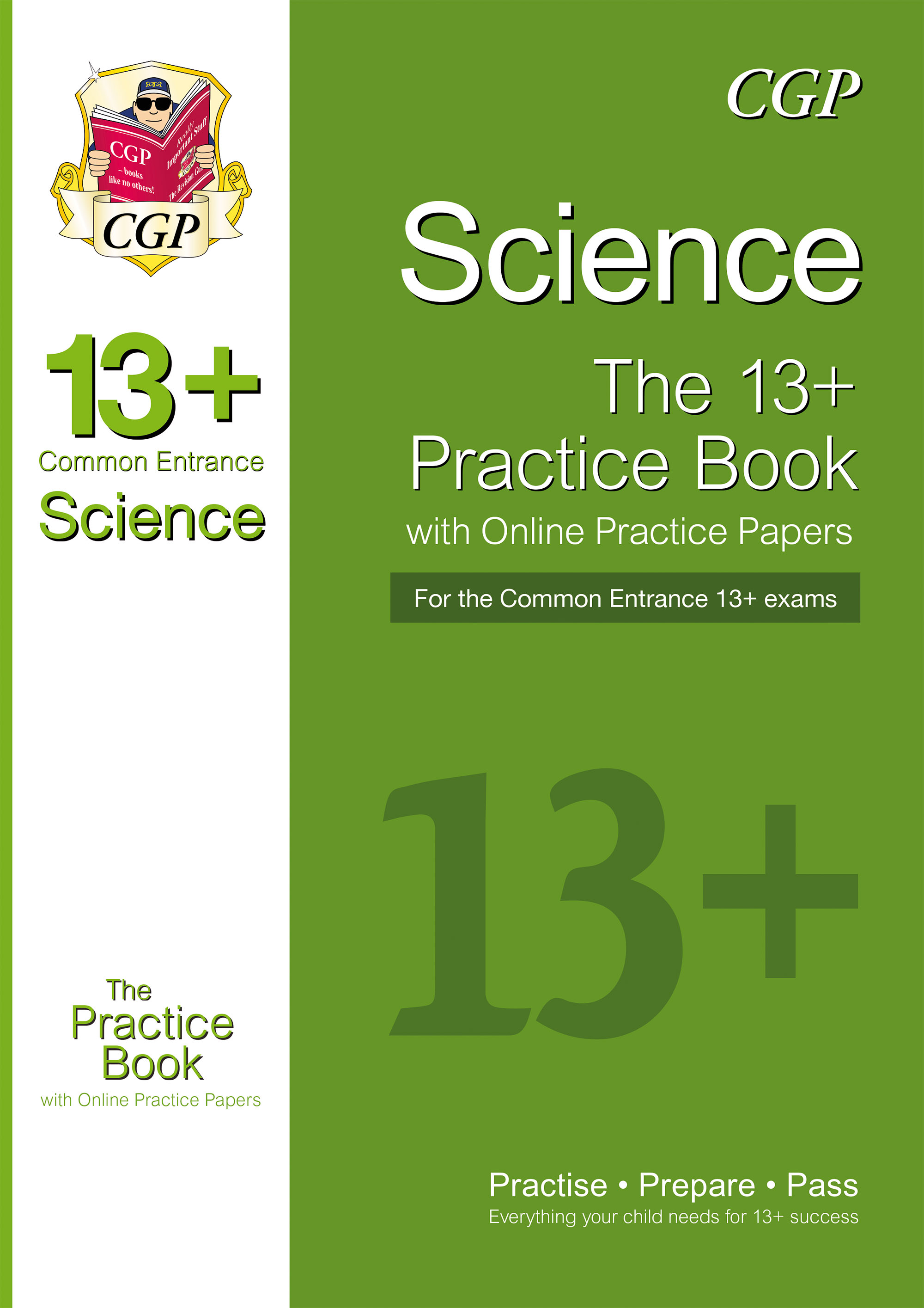 SIQT1DK - New 13+ Science Practice Book for the Common Entrance Exams with Answers