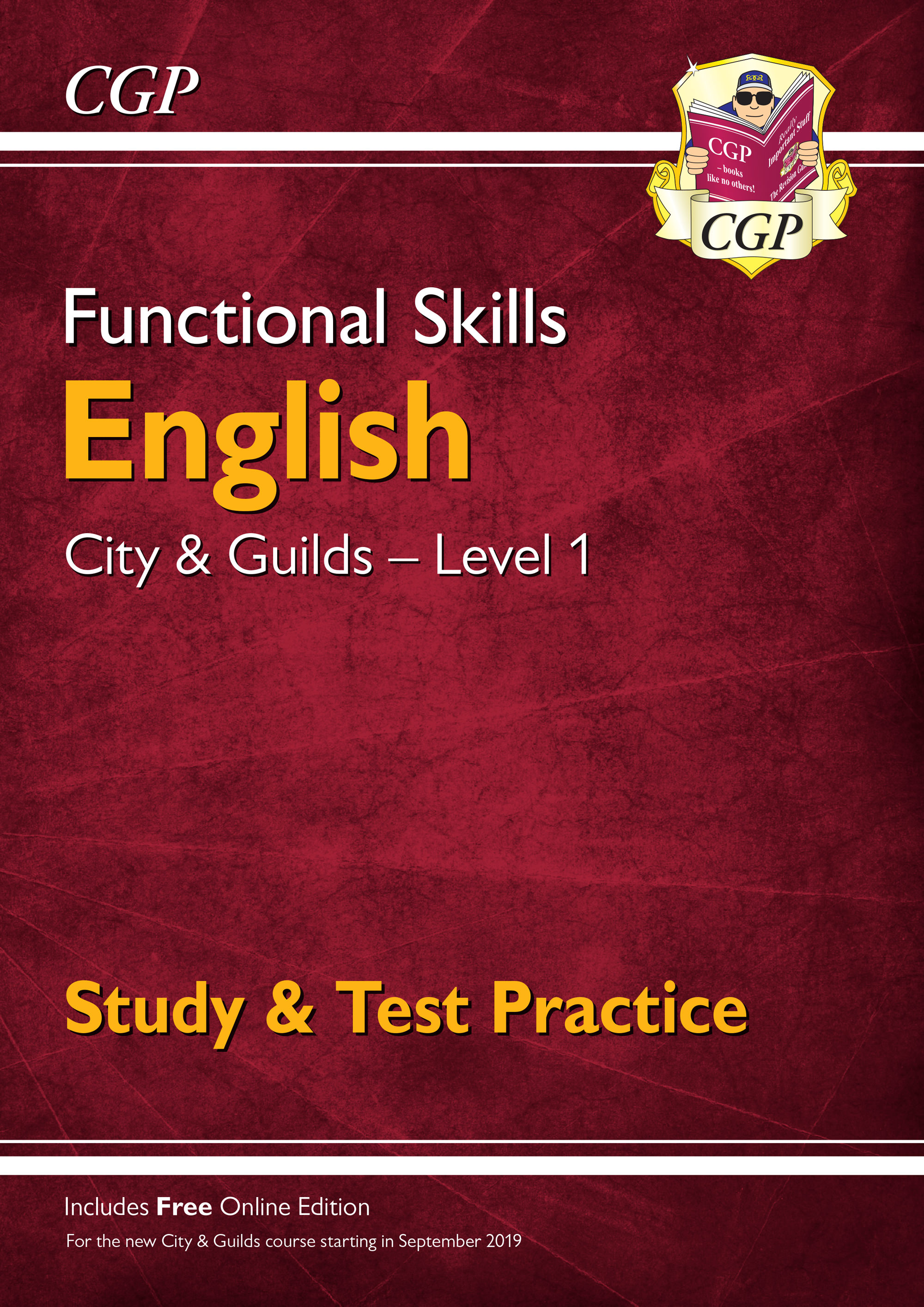 E1CGSRA1 - New Functional Skills English: City & Guilds Level 1 - Study & Test Practice (for 2019 &