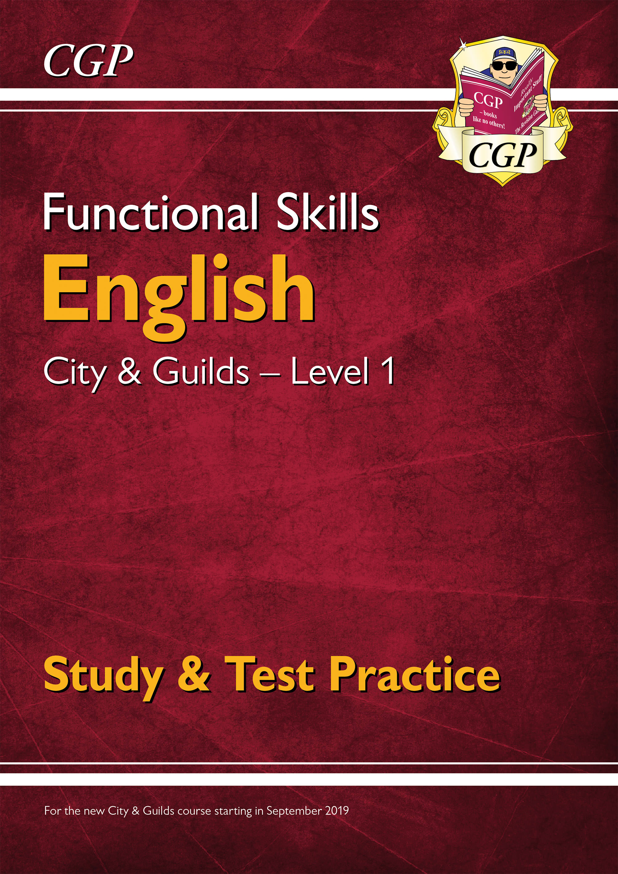 E1CGSRA1D - New Functional Skills English: City & Guilds Level 1 - Study & Test Practice (for 2020 &
