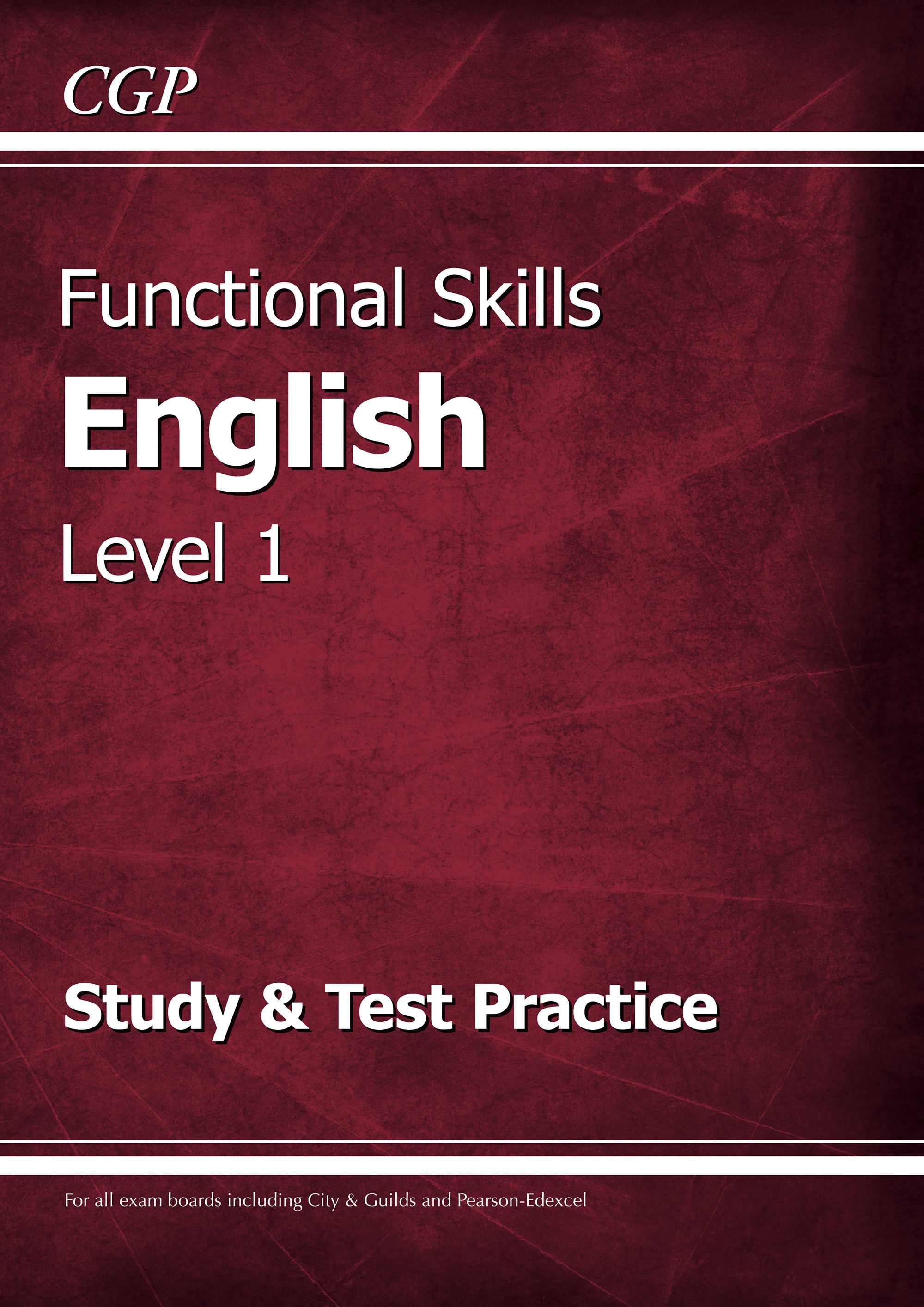 E1SRA2 - Functional Skills English Level 1 - Study & Test Practice