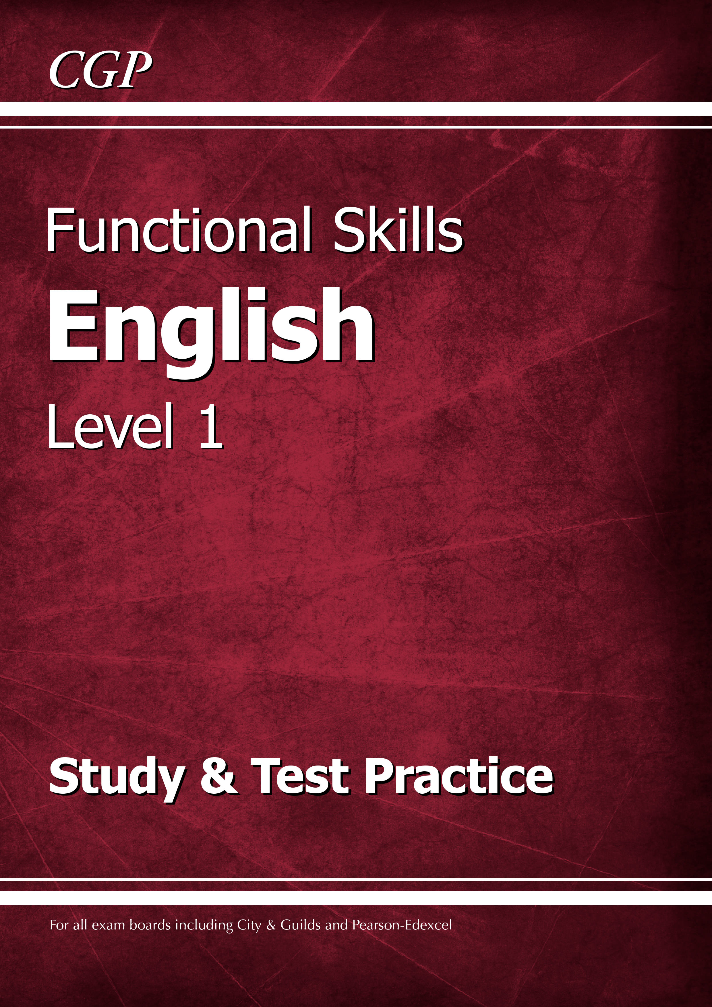 E1SRA2DK - Functional Skills English Level 1 - Study & Test Practice