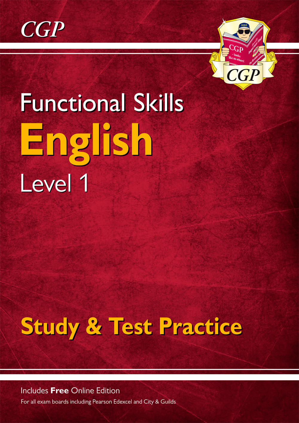 E1SRA3 - New Functional Skills English Level 1 - Study & Test Practice (for 2019 & beyond)